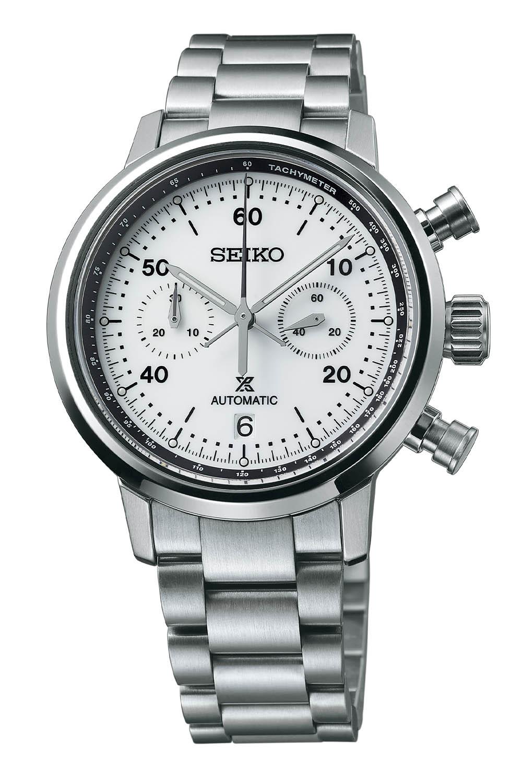 2021 Seiko Prospex Speedtimer Mechanical Chronograph SRQ035