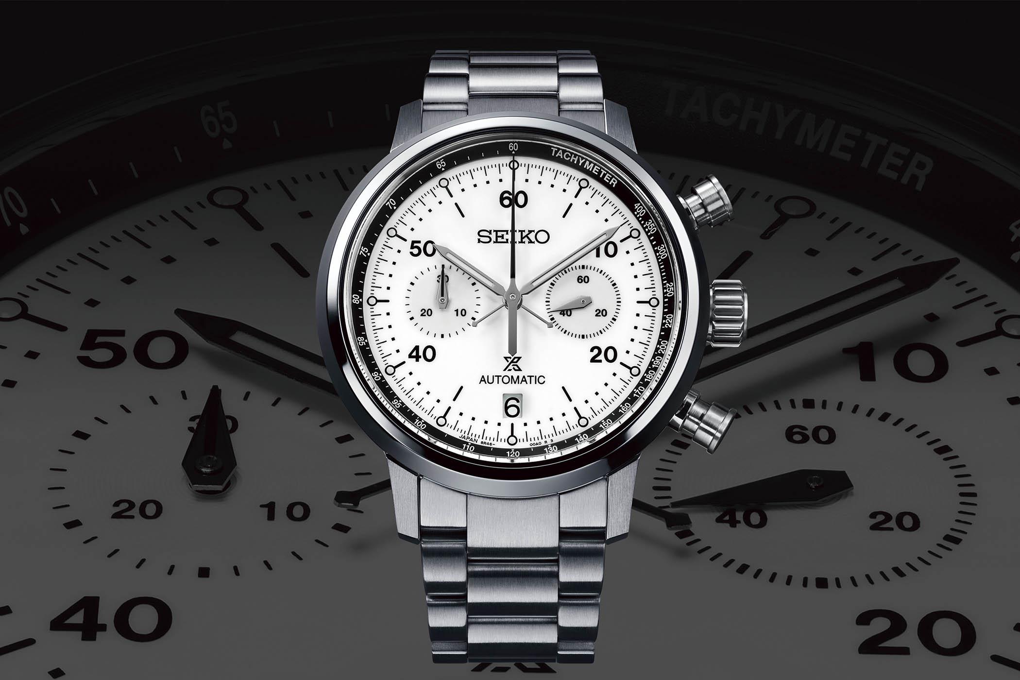 2021 Seiko Prospex Speedtimer Mechanical Chronograph SRQ035 & SRQ037