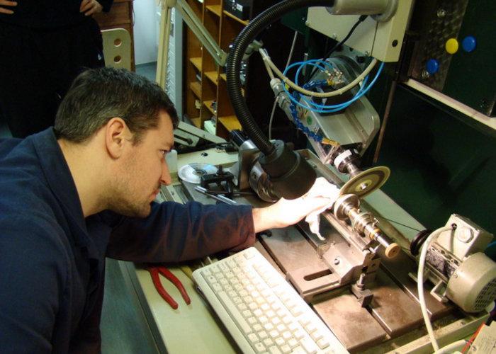 Aaron Bexei at work 1