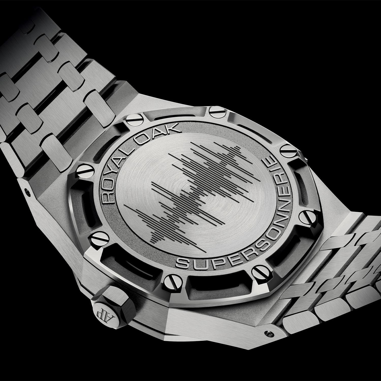 Audemars Piguet Royal Oak Minute Repeater Supersonnerie Titanium Smoked Grey Dial - 26591TI.OO.1252TI.03