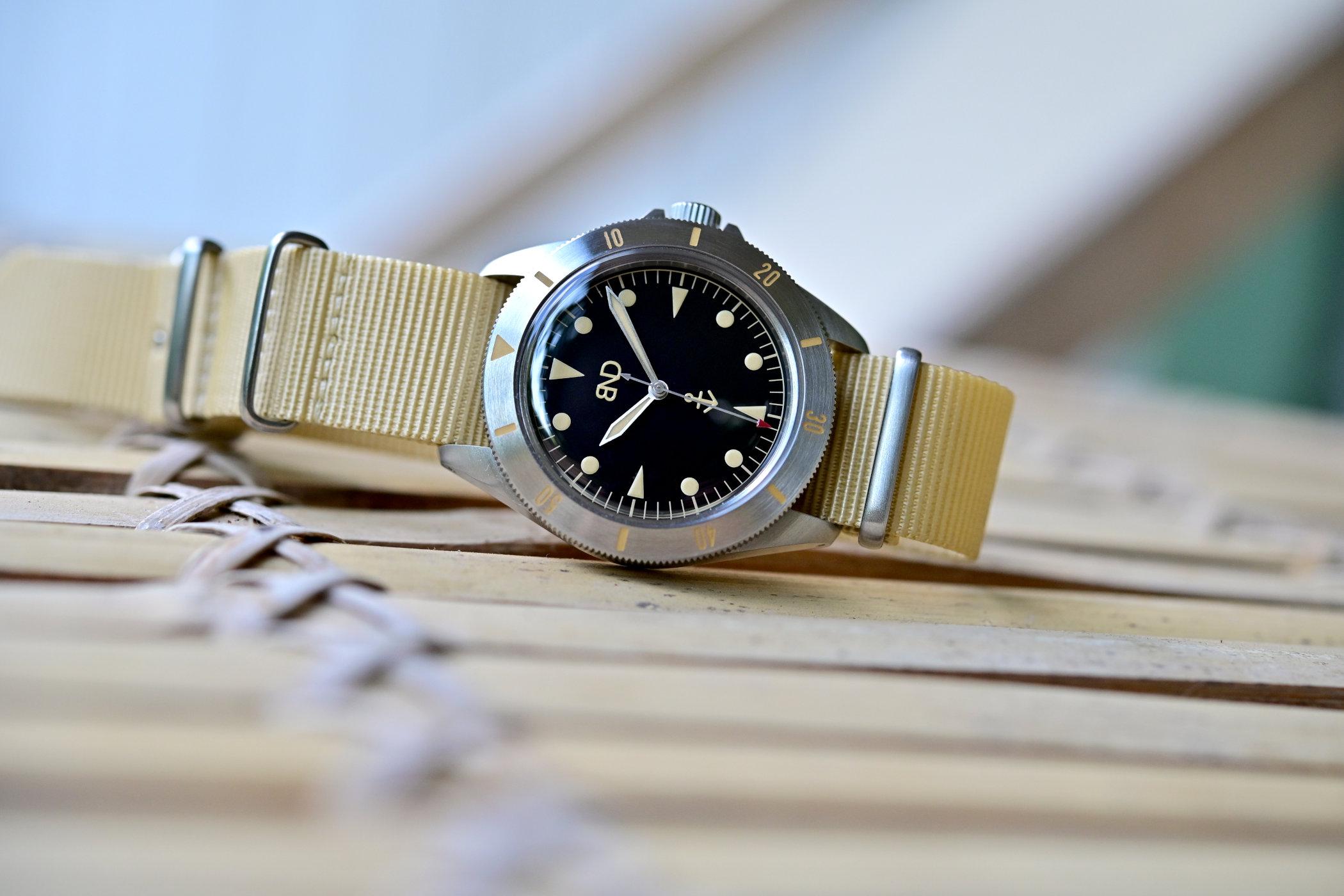 BND Watches Neo-Vintage Diver MNBRO