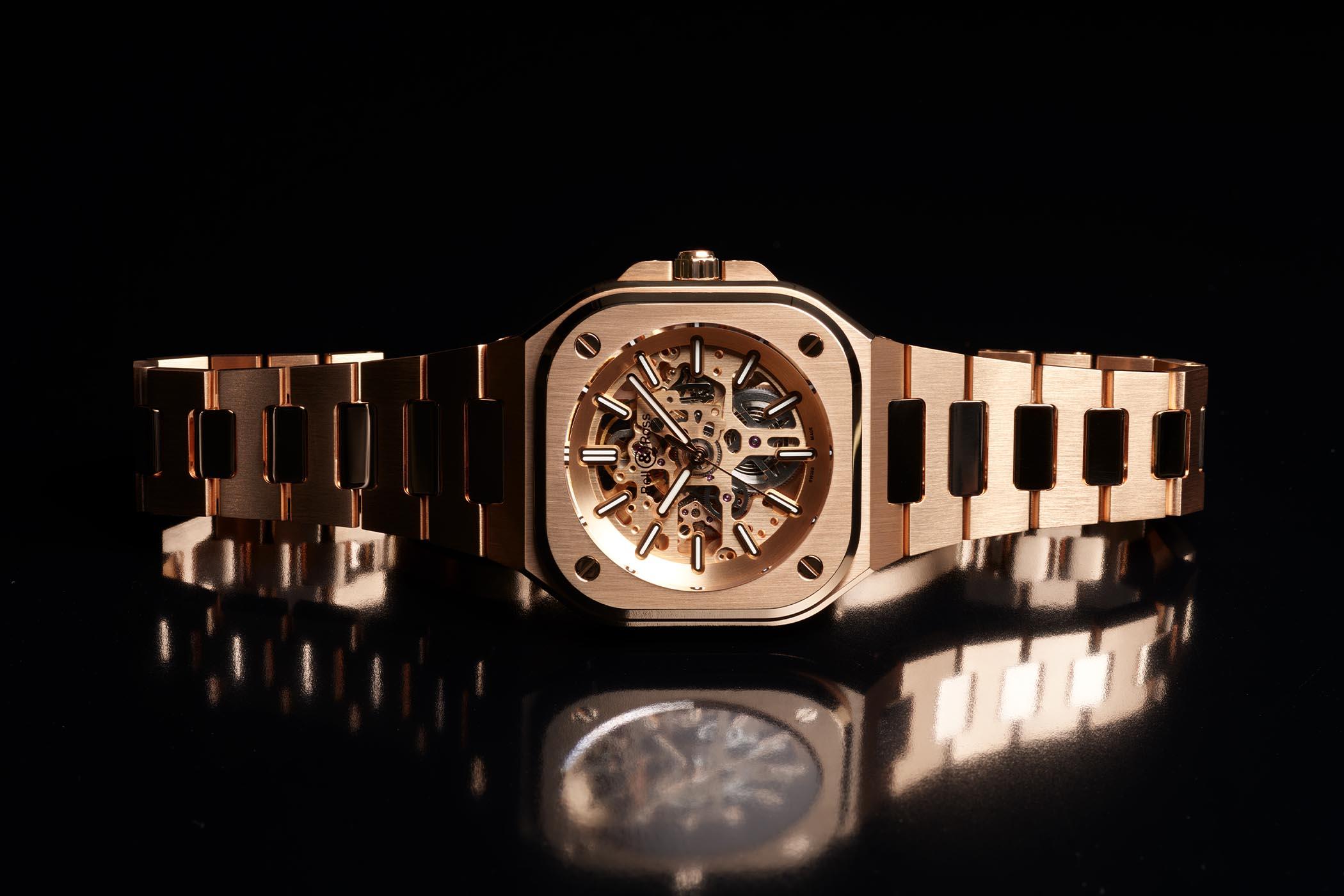 Bell Ross BR 05 Skeleton Gold 2