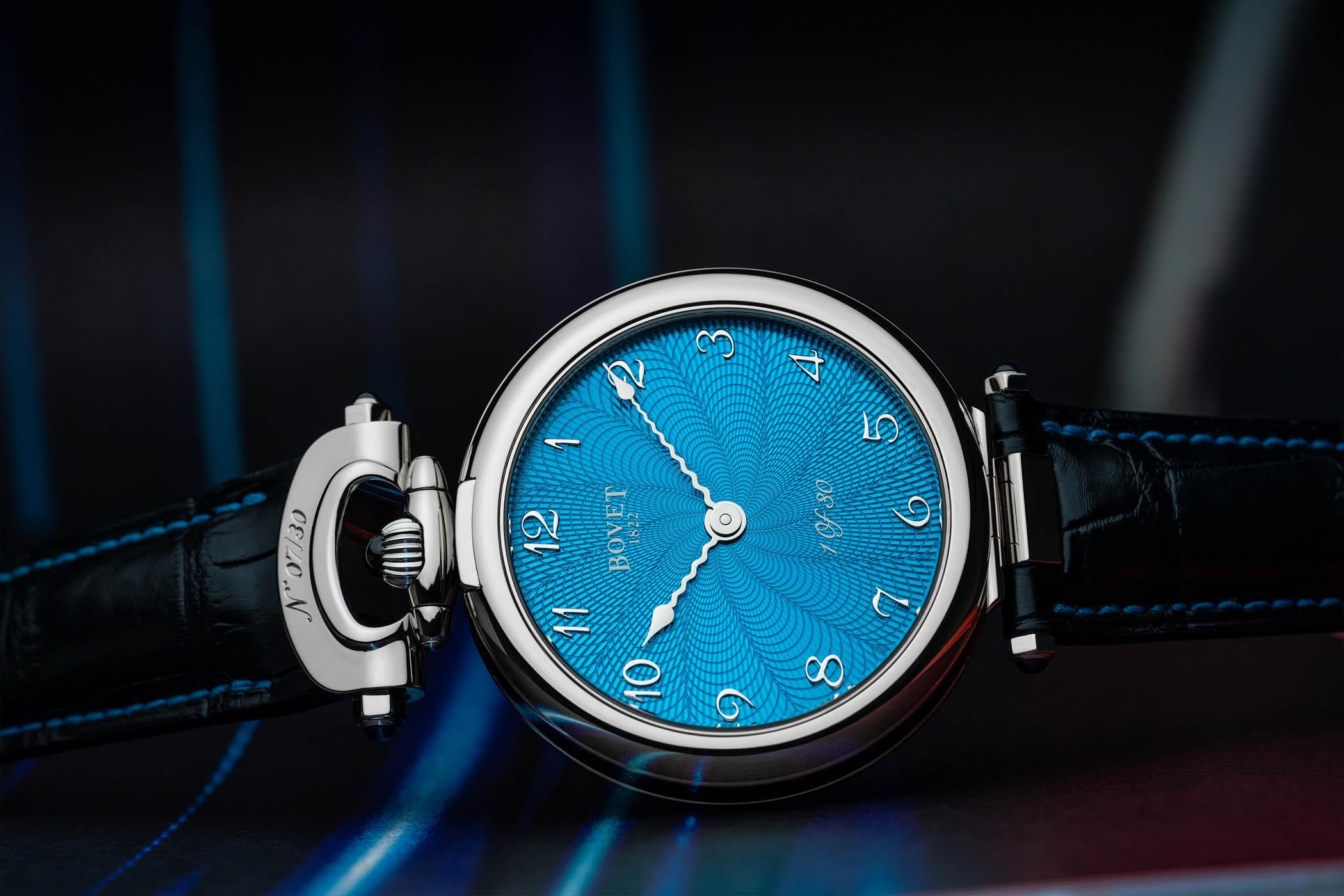 Bovet Monsieur Bovet Turquoise Guilloche Dial 2021