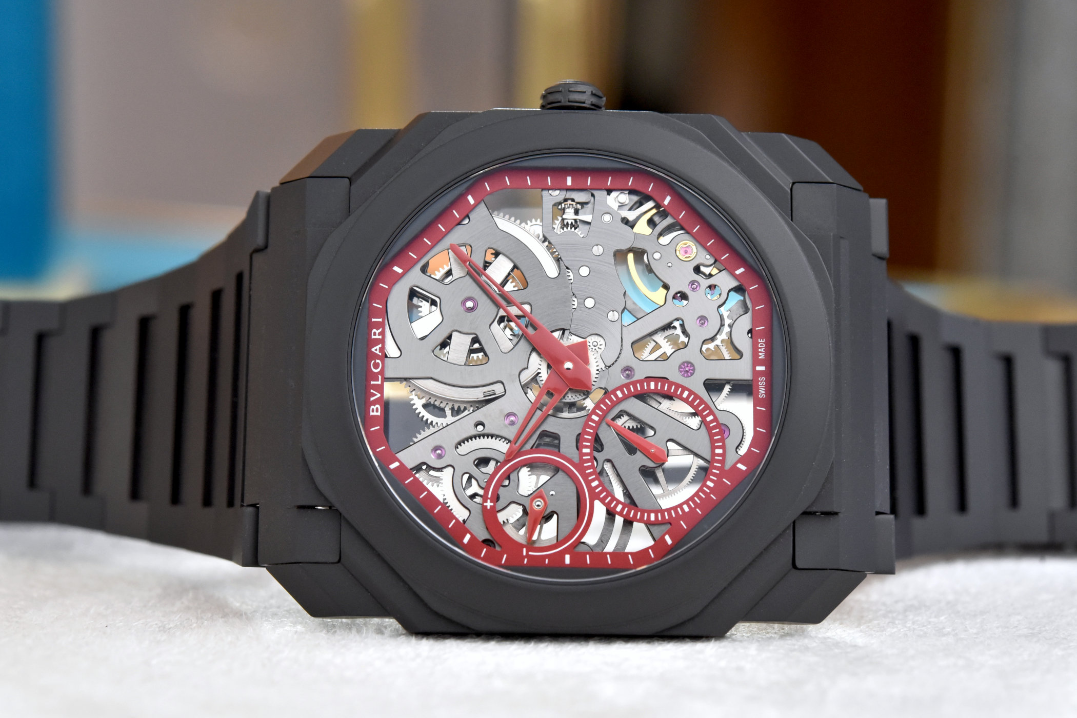 Bvlgari Octo Finissimo Skeleton Red Limited Edition Review 1