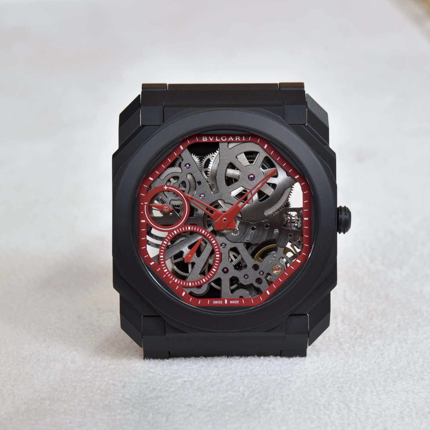Bvlgari Octo Finissimo Skeleton Red Limited Edition Review 3