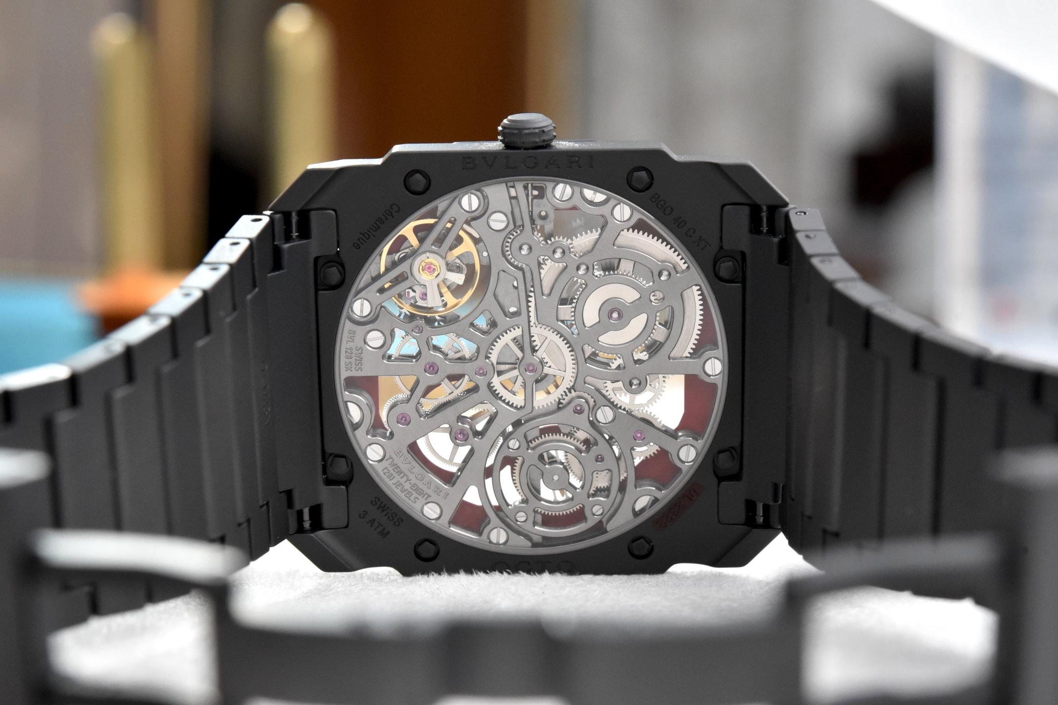 Bvlgari Octo Finissimo Skeleton Red Limited Edition Review 6