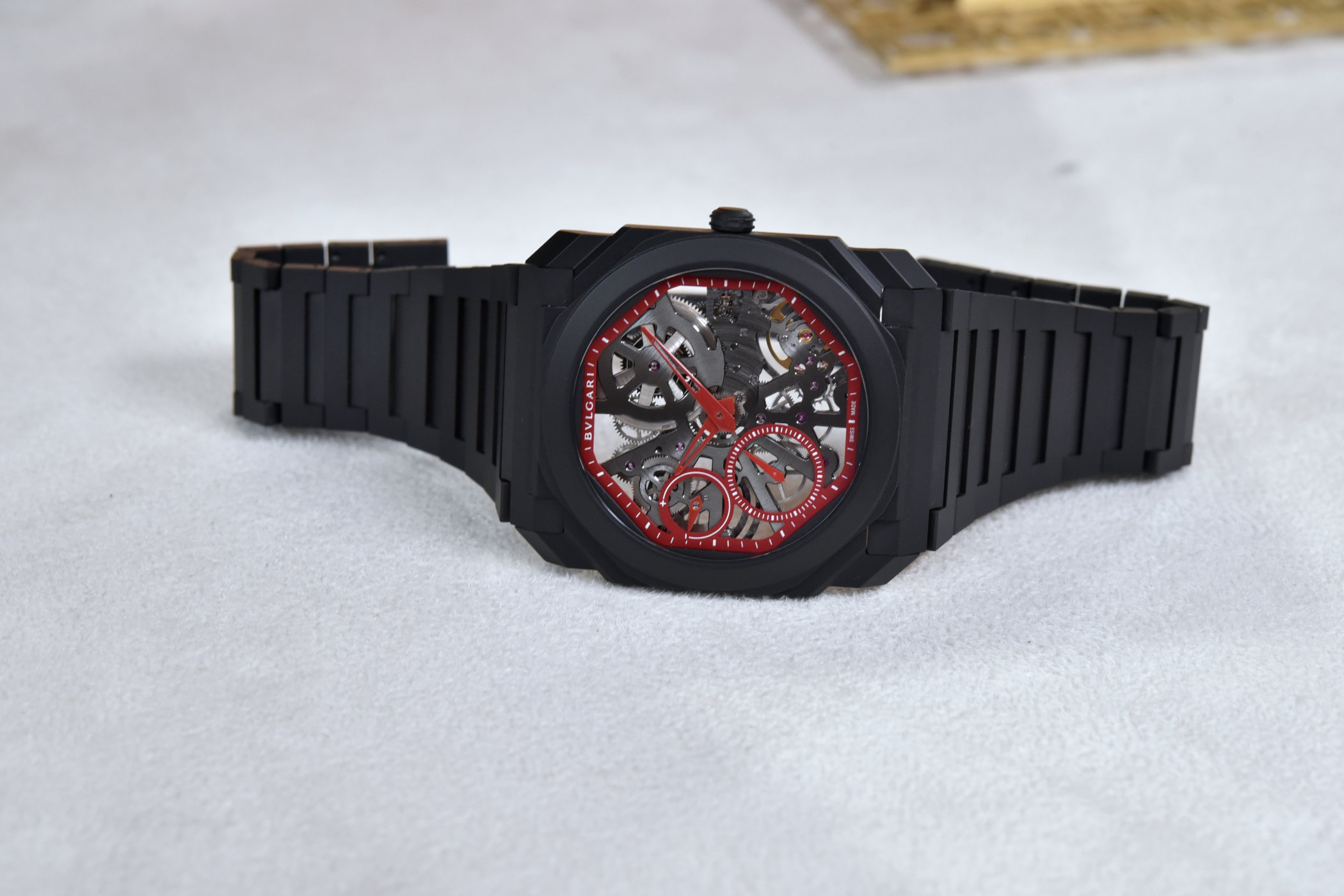 Bvlgari Octo Finissimo Skeleton Red Limited Edition Review 7