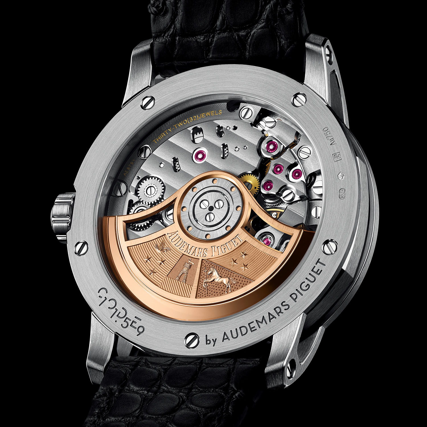 Code 11.59 by Audemars Piguet Selfwinding White Gold Smoked Blue Dial 15210BC.OO.A002KB.01