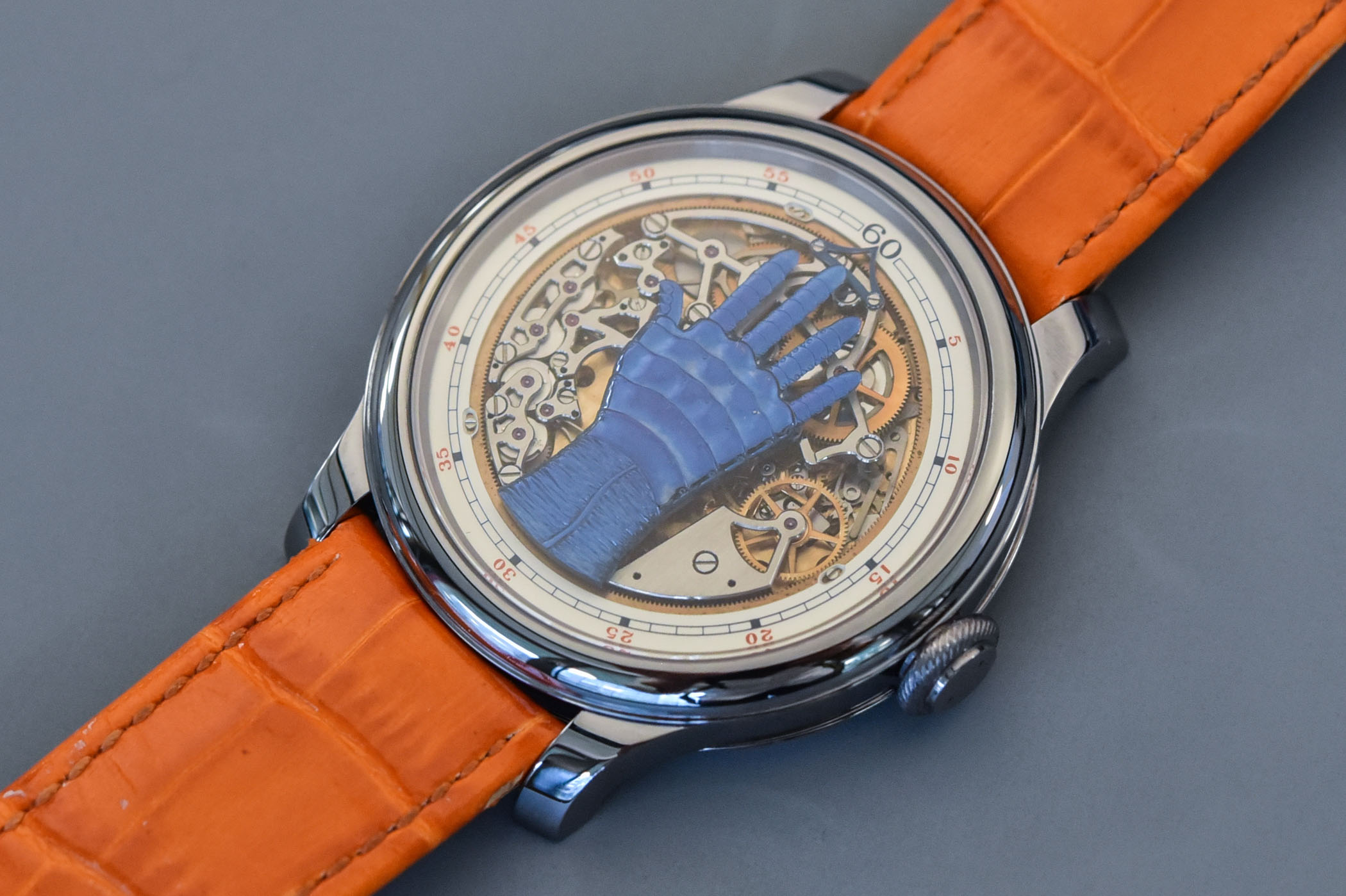 FP Journe FCC Blue Only Watch 2021