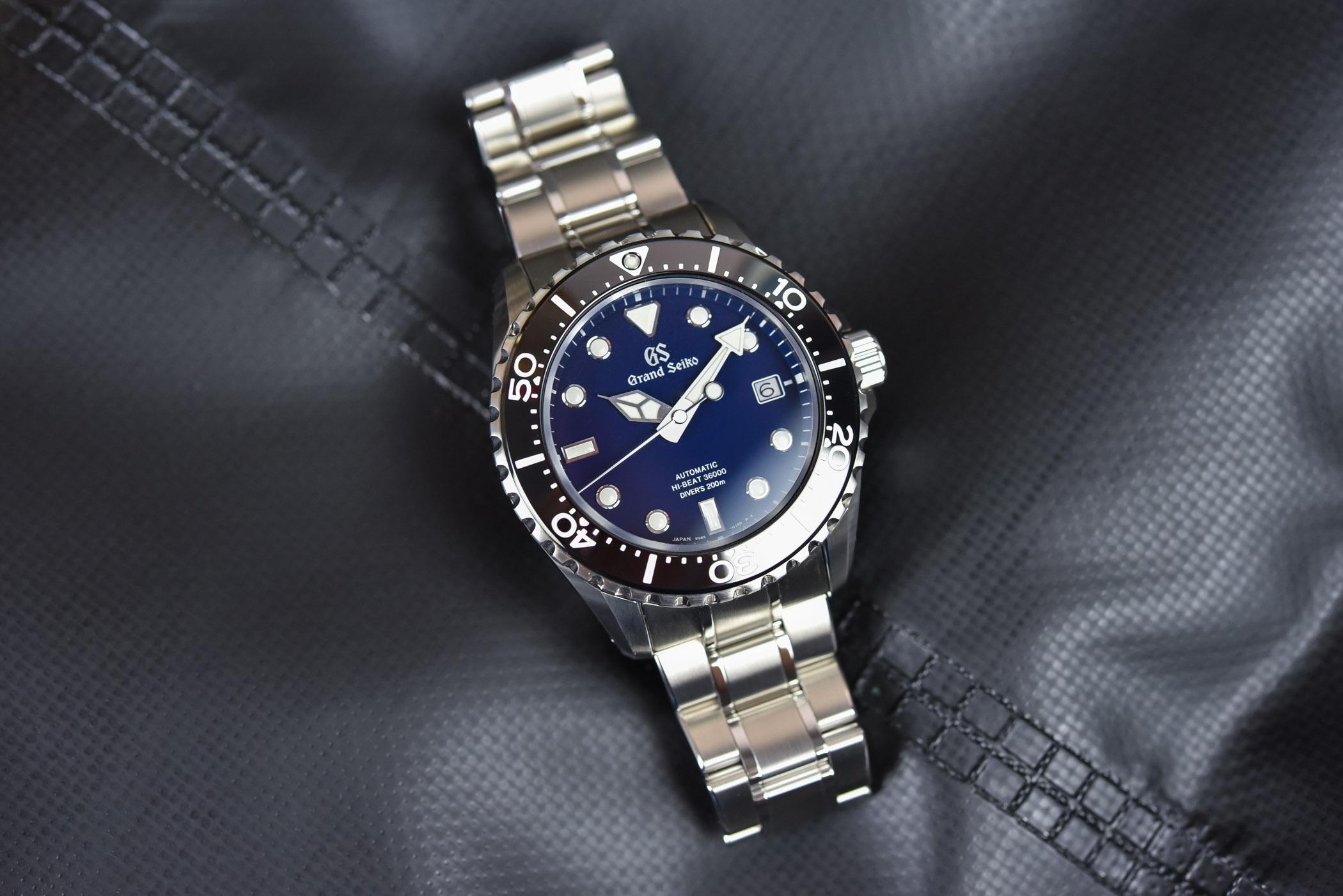 Grand Seiko Hi-Beat 200m Diver SBGH289 calibre 9S85