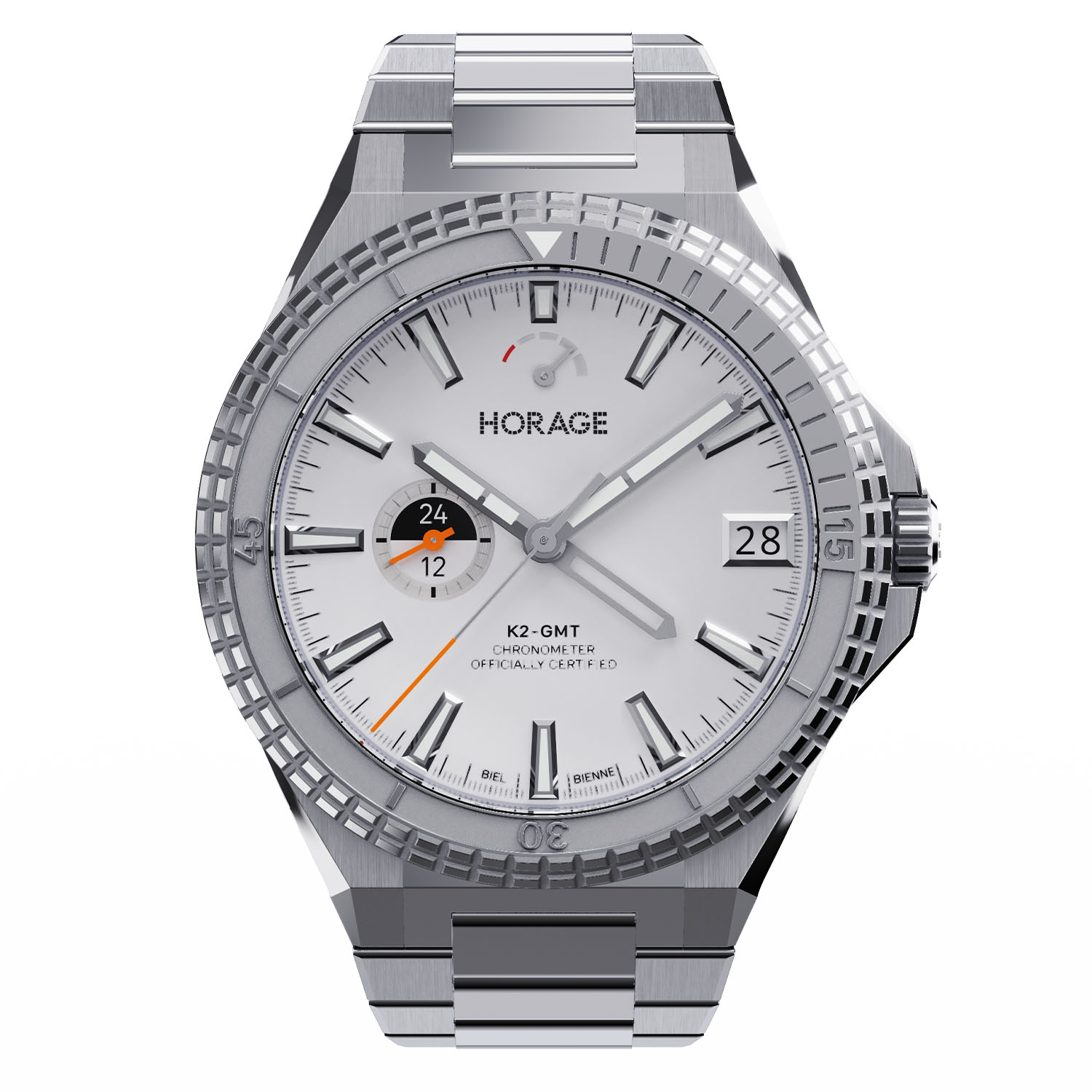 Horage Supersede GMT Sports Watch, With In-House Micro-Rotor Calibre