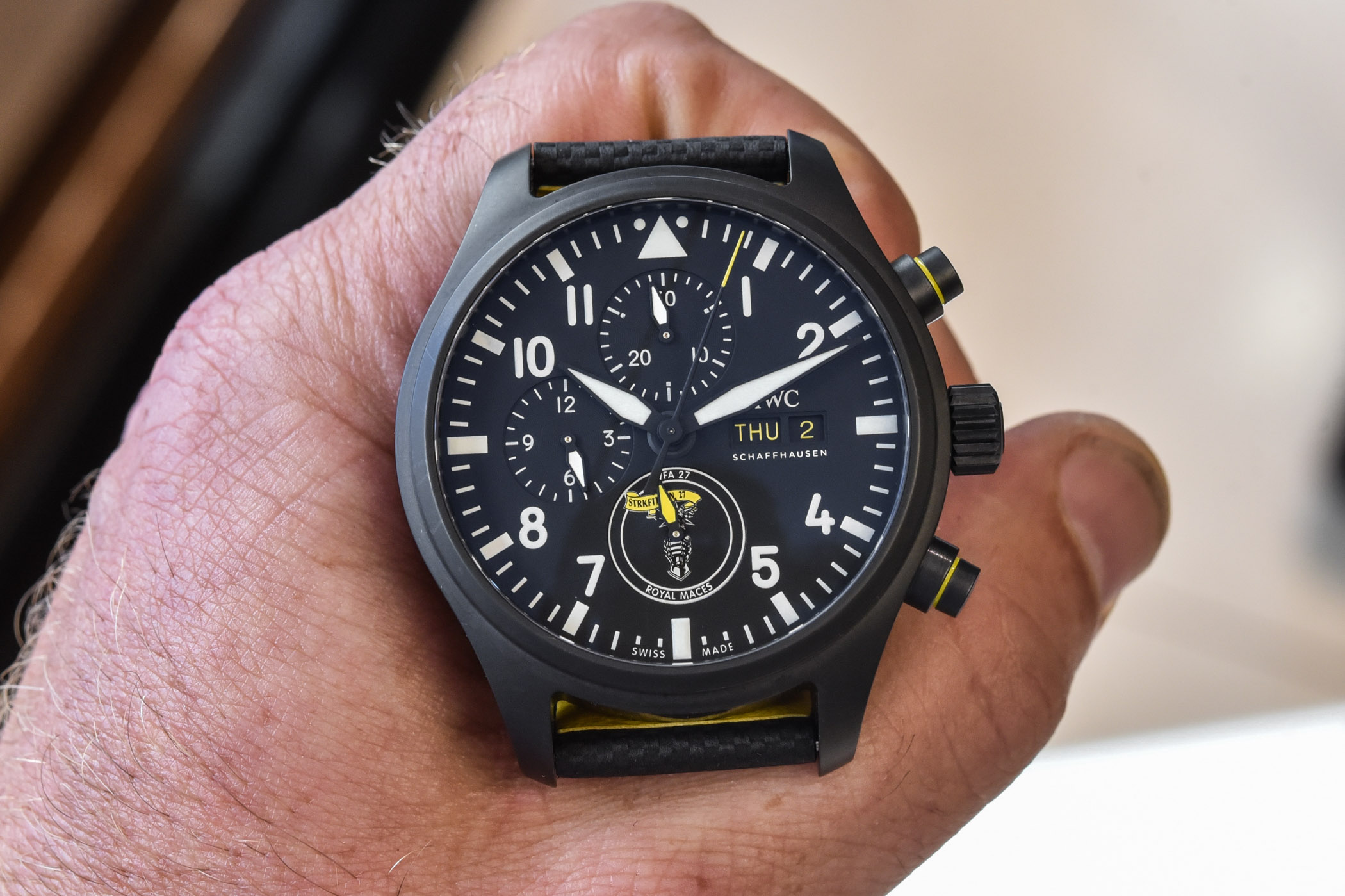 IWC Pilot's Watch Chronograph US Navy Squadrons Editions Royal Maces IW389107