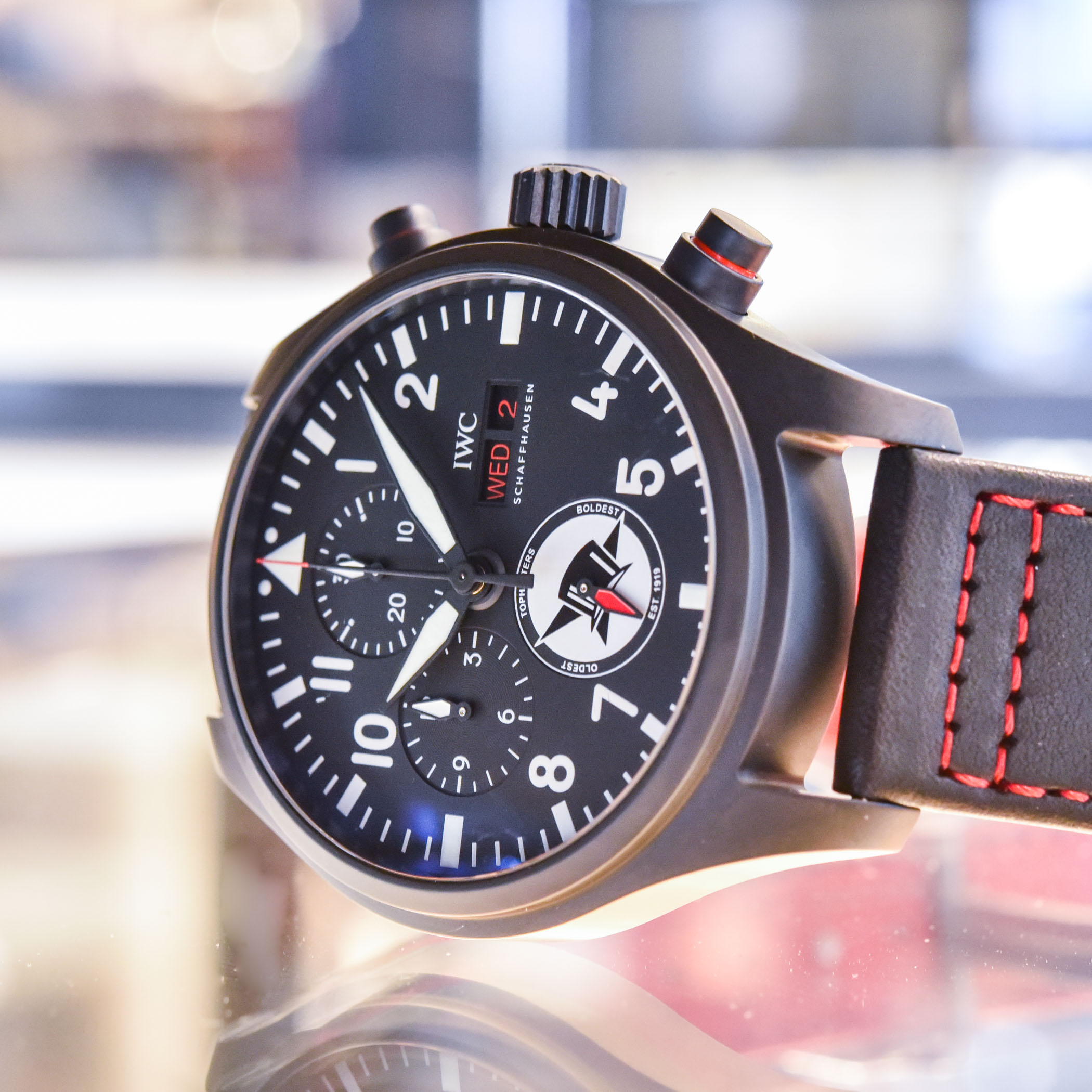 IWC Pilot's Watch Chronograph US Navy Squadrons Editions Tophatters IW389108