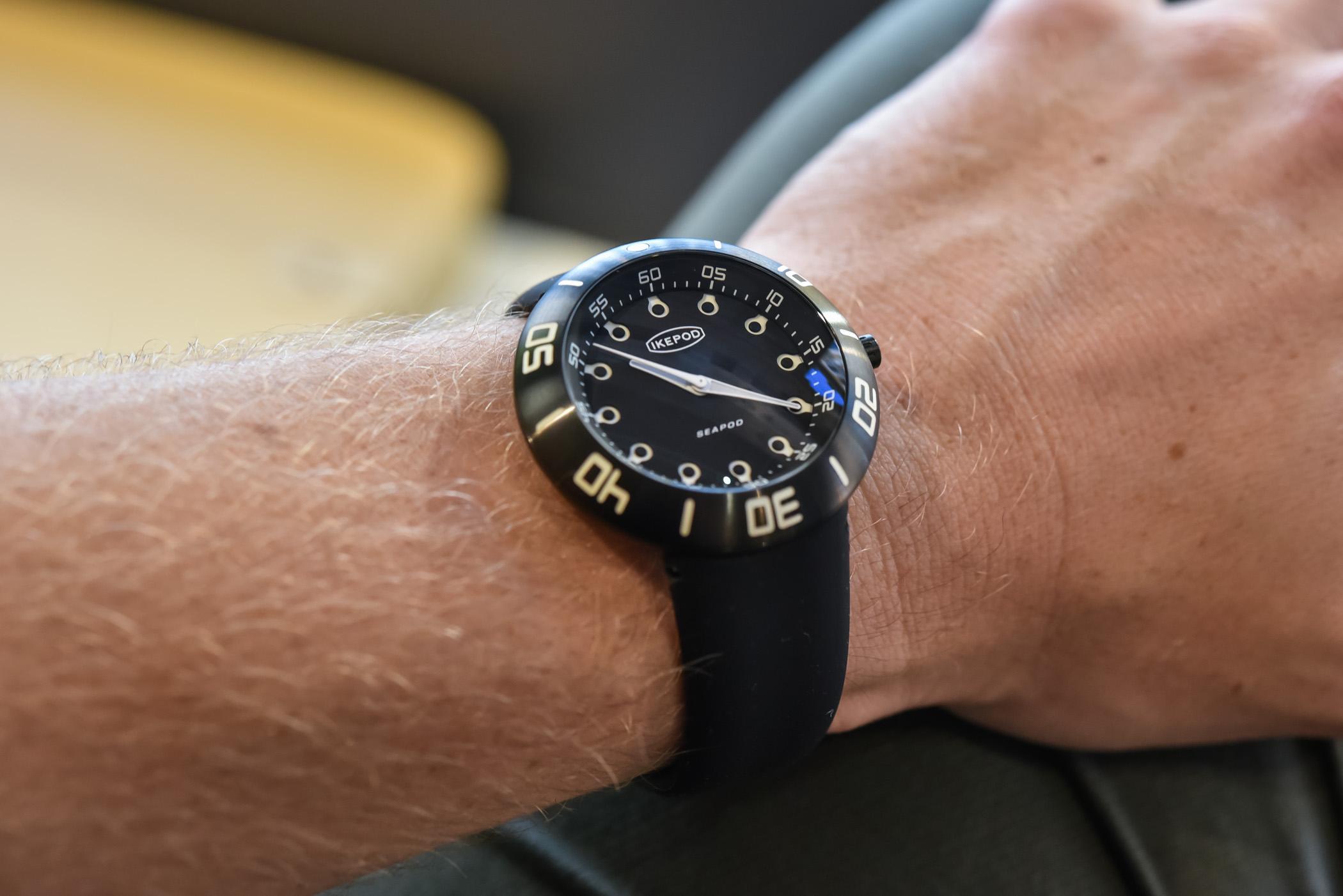 Ikepod Seapod Collection Dive Watch 2021