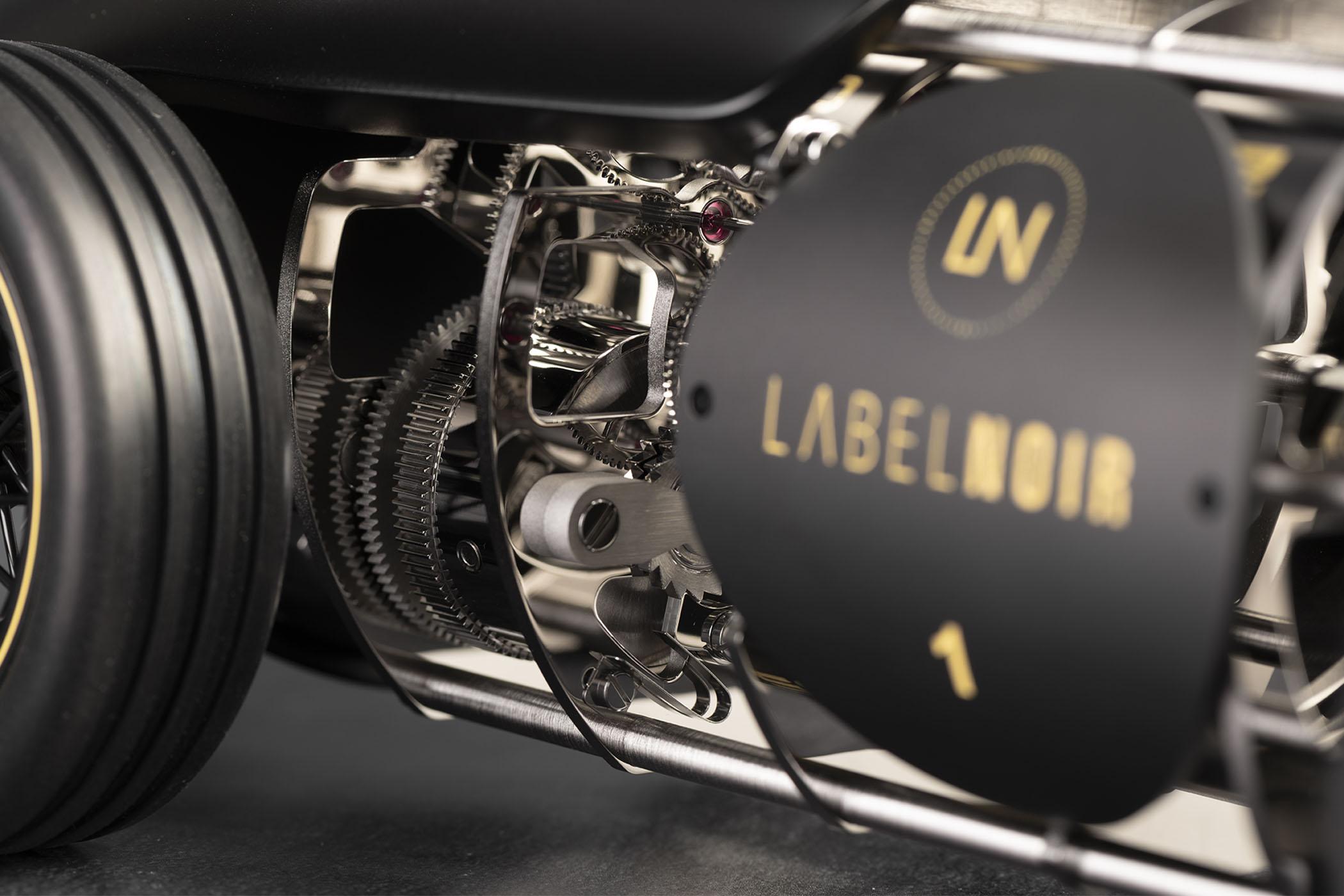 Label Noir x L'Epee 1839 Time Fast D8 LN_EP01 car clock