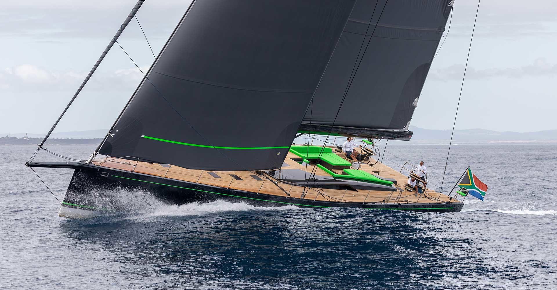 Monaco Yacht Show 2021 with Ulysse Nardin - Southern Wind Morgana luxury sailing yacht
