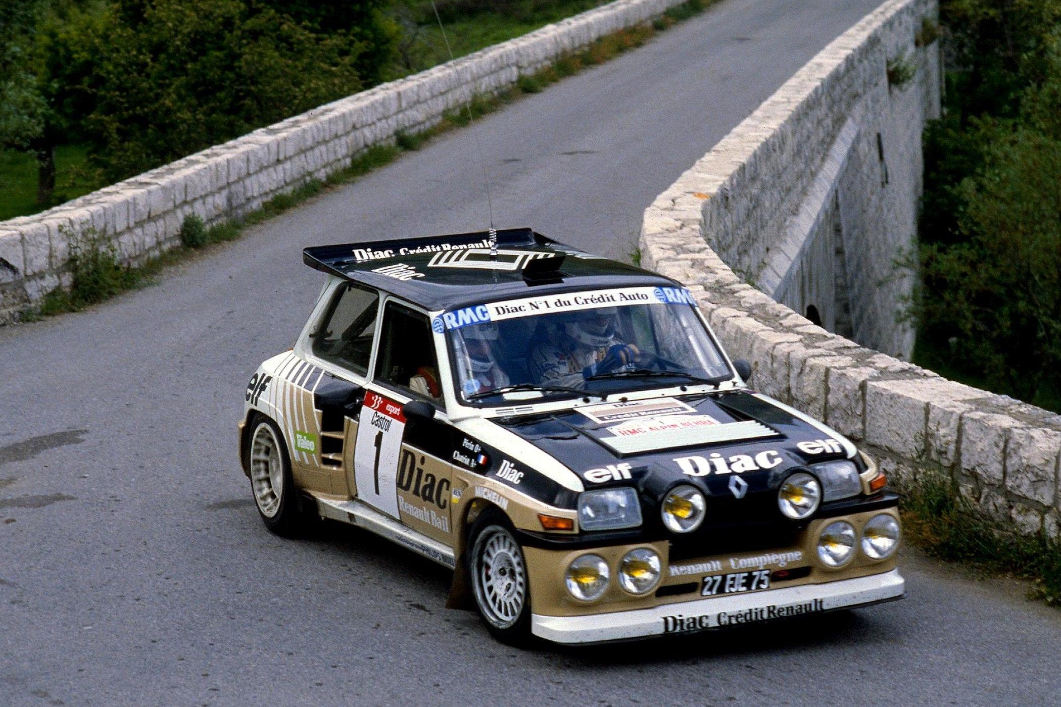 Renault 5 Maxi Turbo Group B Rally Car 1