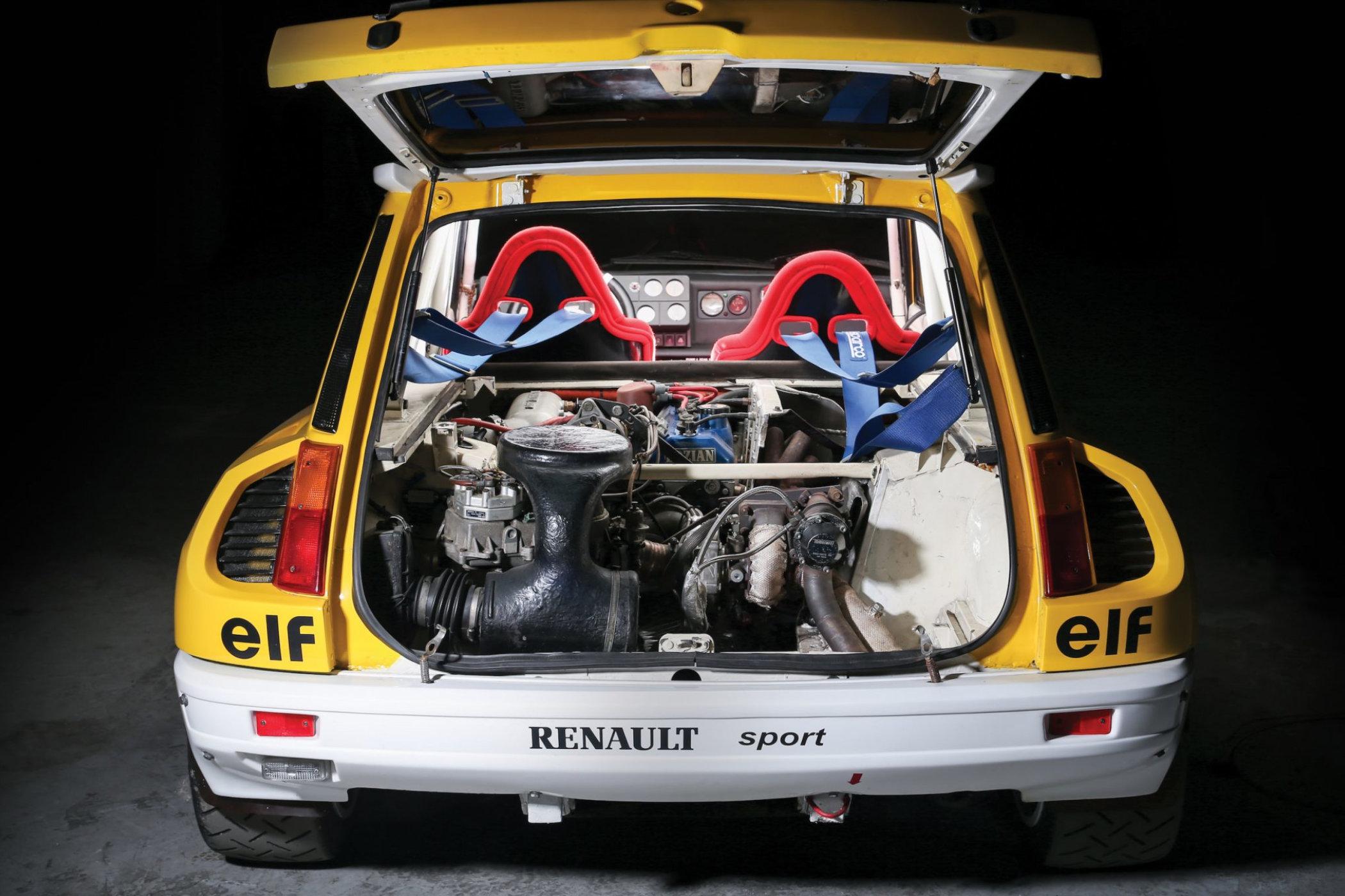 Renault 5 Maxi Turbo Group B Rally Car 4