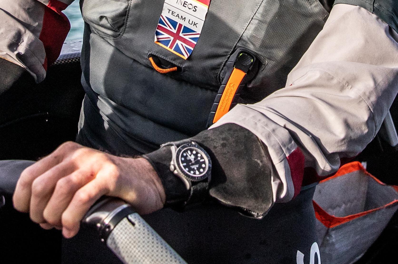 Spotted - Rolex Yacht-Master 42 Titanium No-Date Prototype Worn by Sir Ben Ainslie