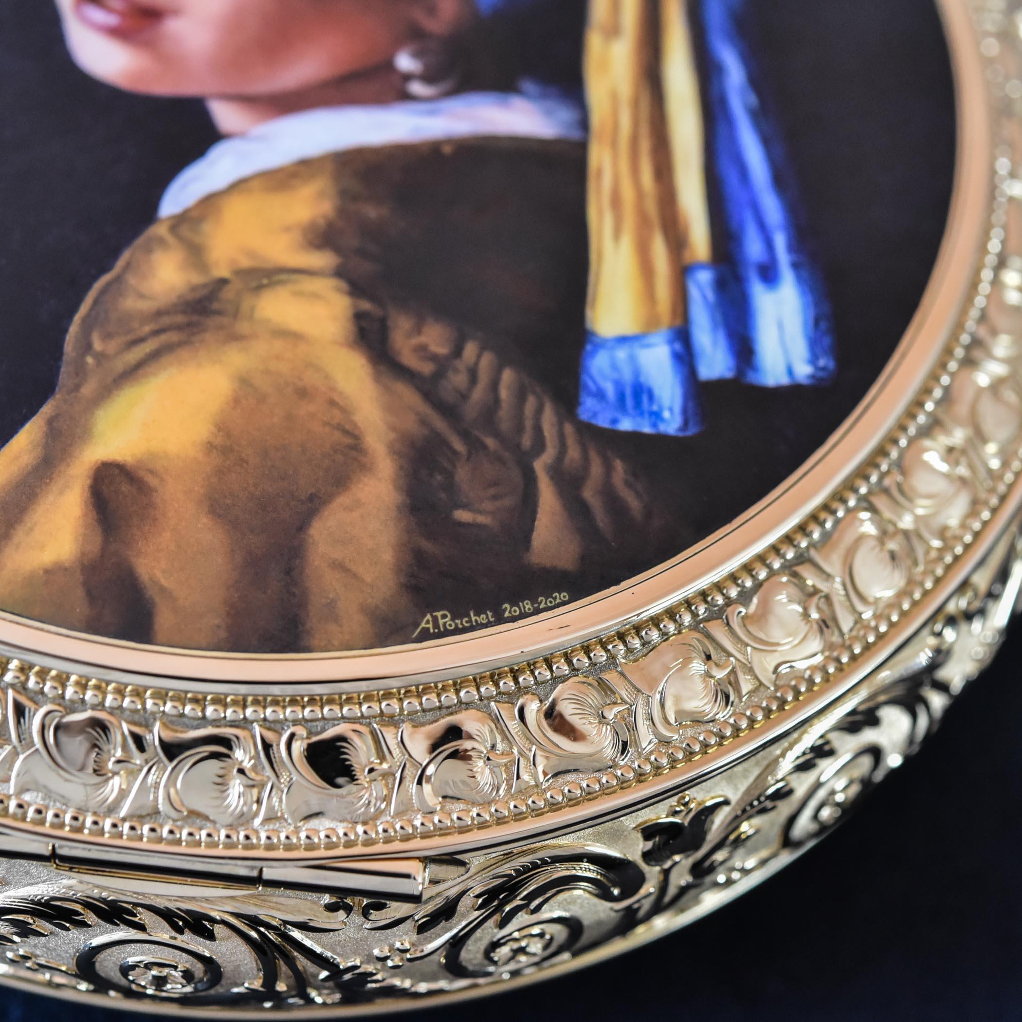 Vacheron Constantin Les Cabinotiers Westminster Sonnerie Tribute to Johannes Vermeer Pocket Watch