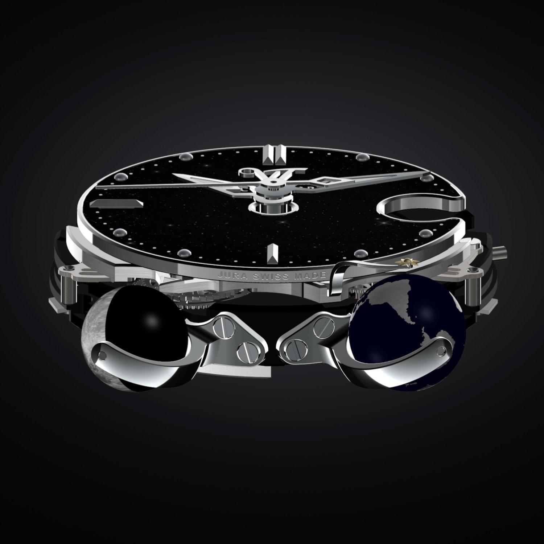 VicenTerra AstroLUNA T2 & Classic T2 Black Aventurine movement 1