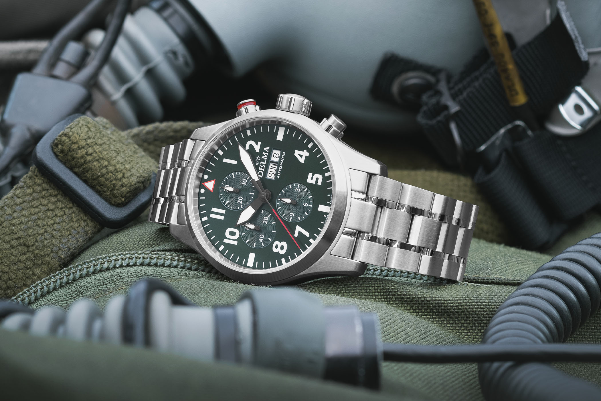 Introducing - Delma Commander 3-Hand, Big Date and Chronograph