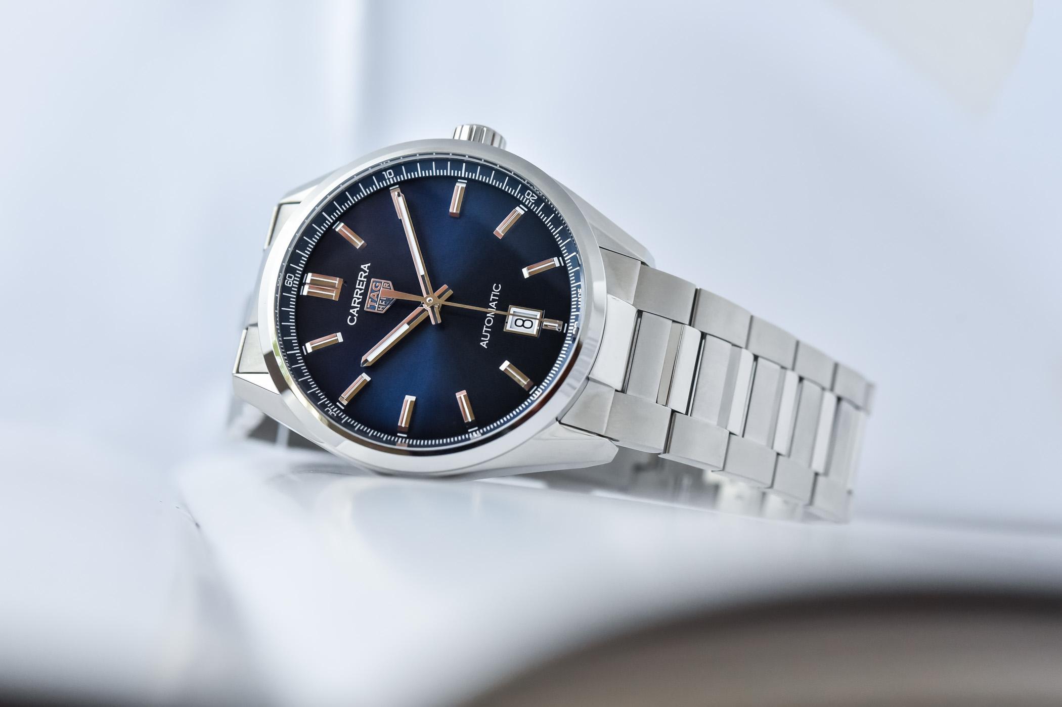 2021 TAG Heuer Carrera Date 39mm Blue Dial WBN2112.BA0639