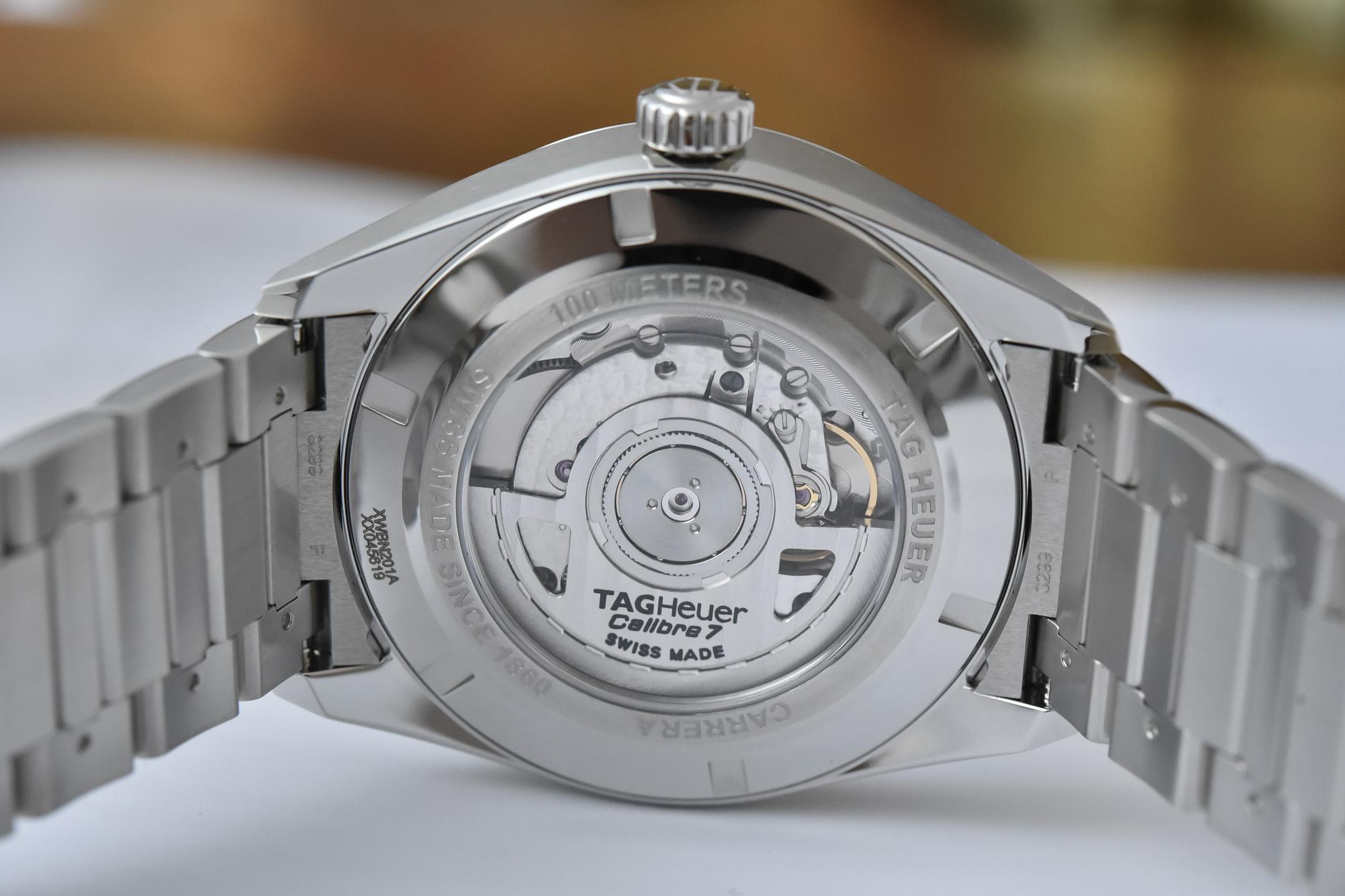 2021 TAG Heuer Carrera Twin-Time Date 41mm WBN201A.BA0640 calibre 7