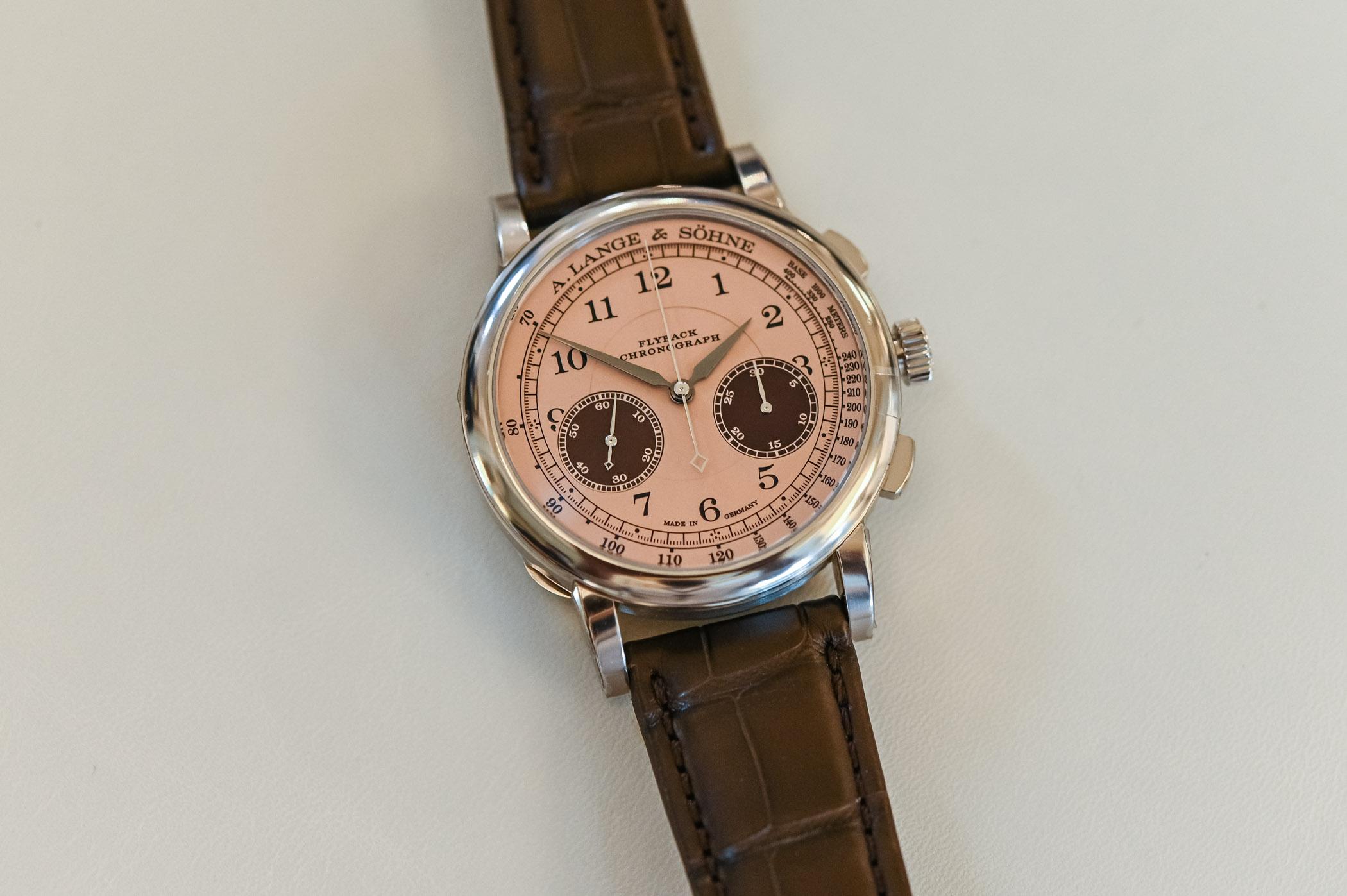 A Lange Sohne 1815 Chronograph 2021 Concorso Edition Winner's Watch - 1