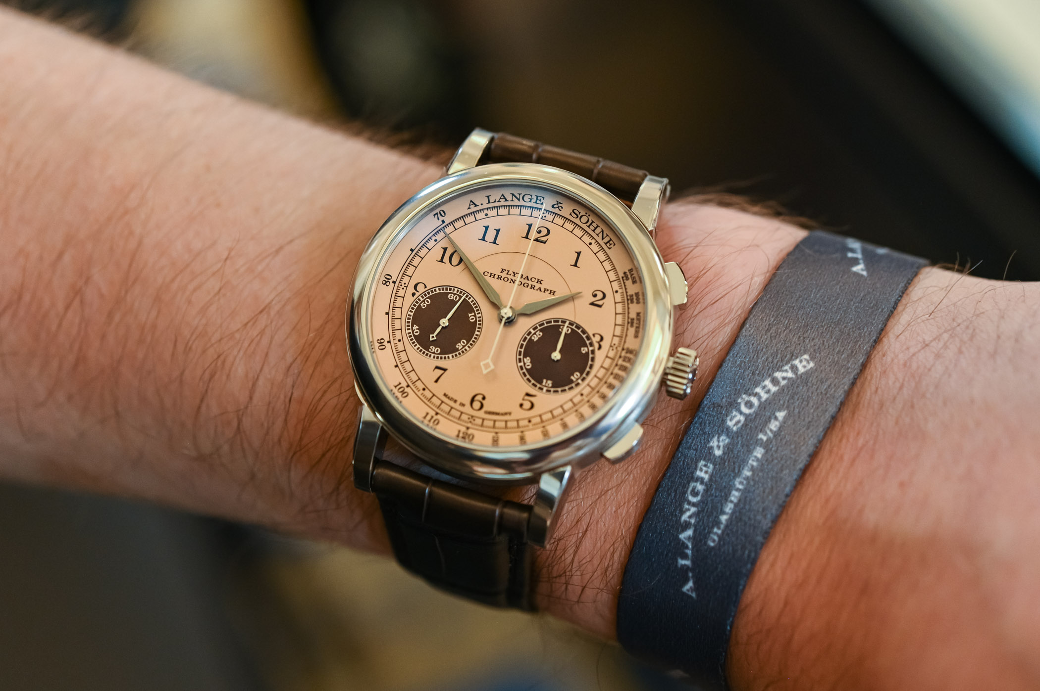 A Lange Sohne 1815 Chronograph 2021 Concorso Edition Winner's Watch - 2