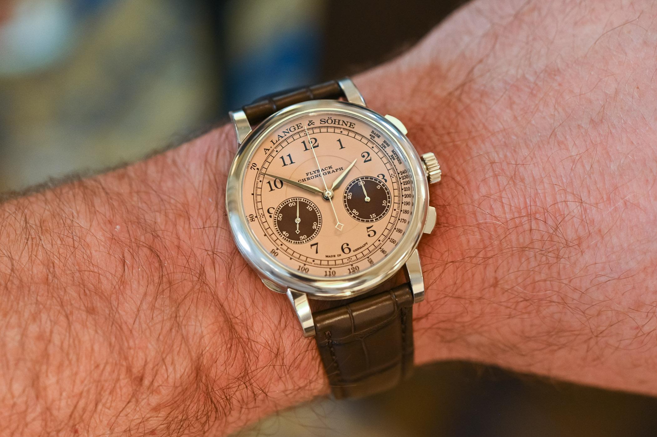 A Lange Sohne 1815 Chronograph 2021 Concorso Edition Winner's Watch - 4