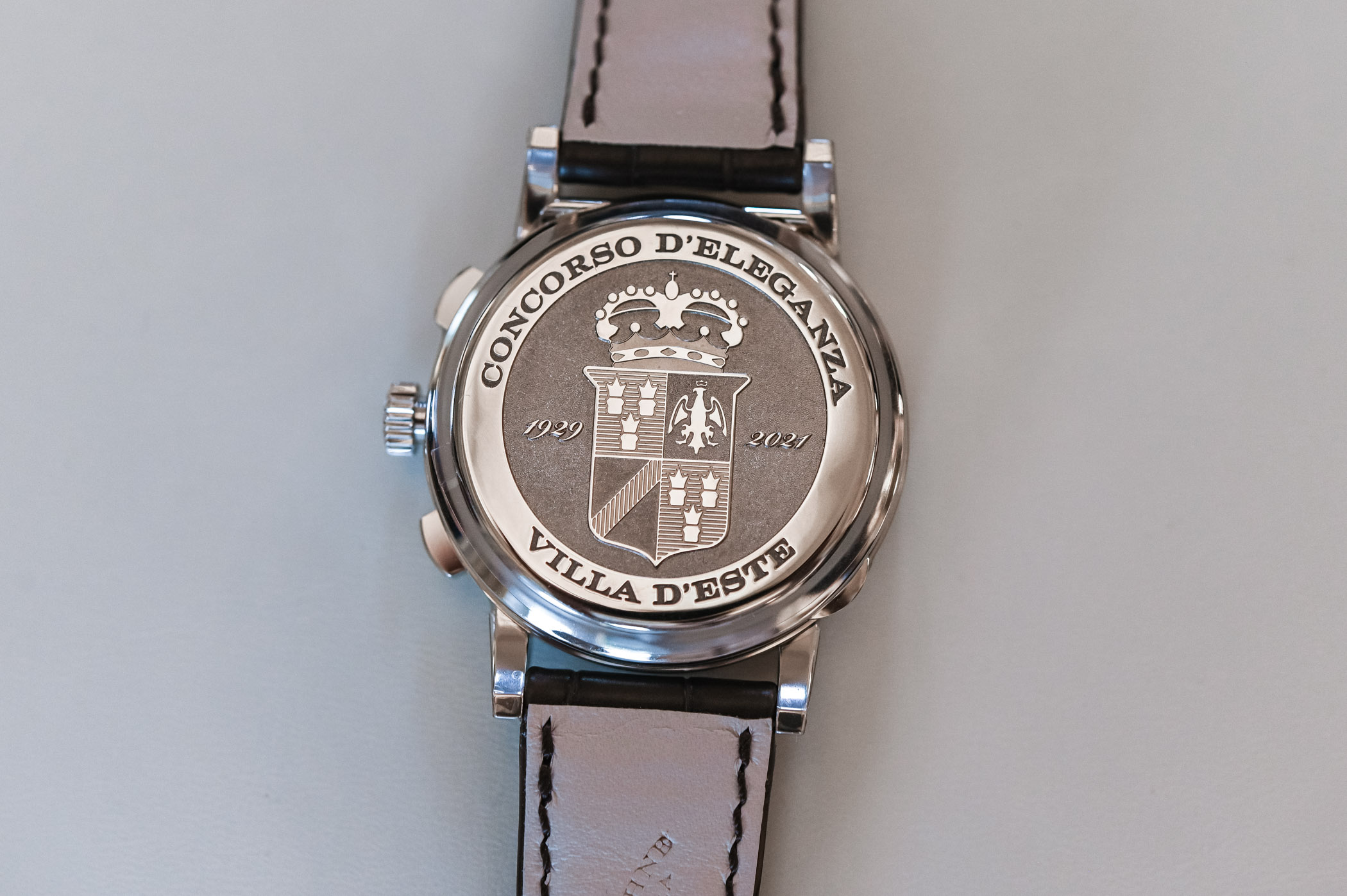 A Lange Sohne 1815 Chronograph 2021 Concorso Edition Winner's Watch - 5