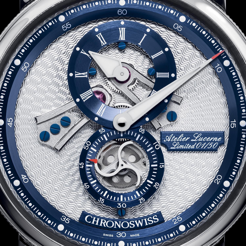 Chronoswiss Flying Regulator Open Gear Lucerne Edition - CH-8753.1-SIBLB