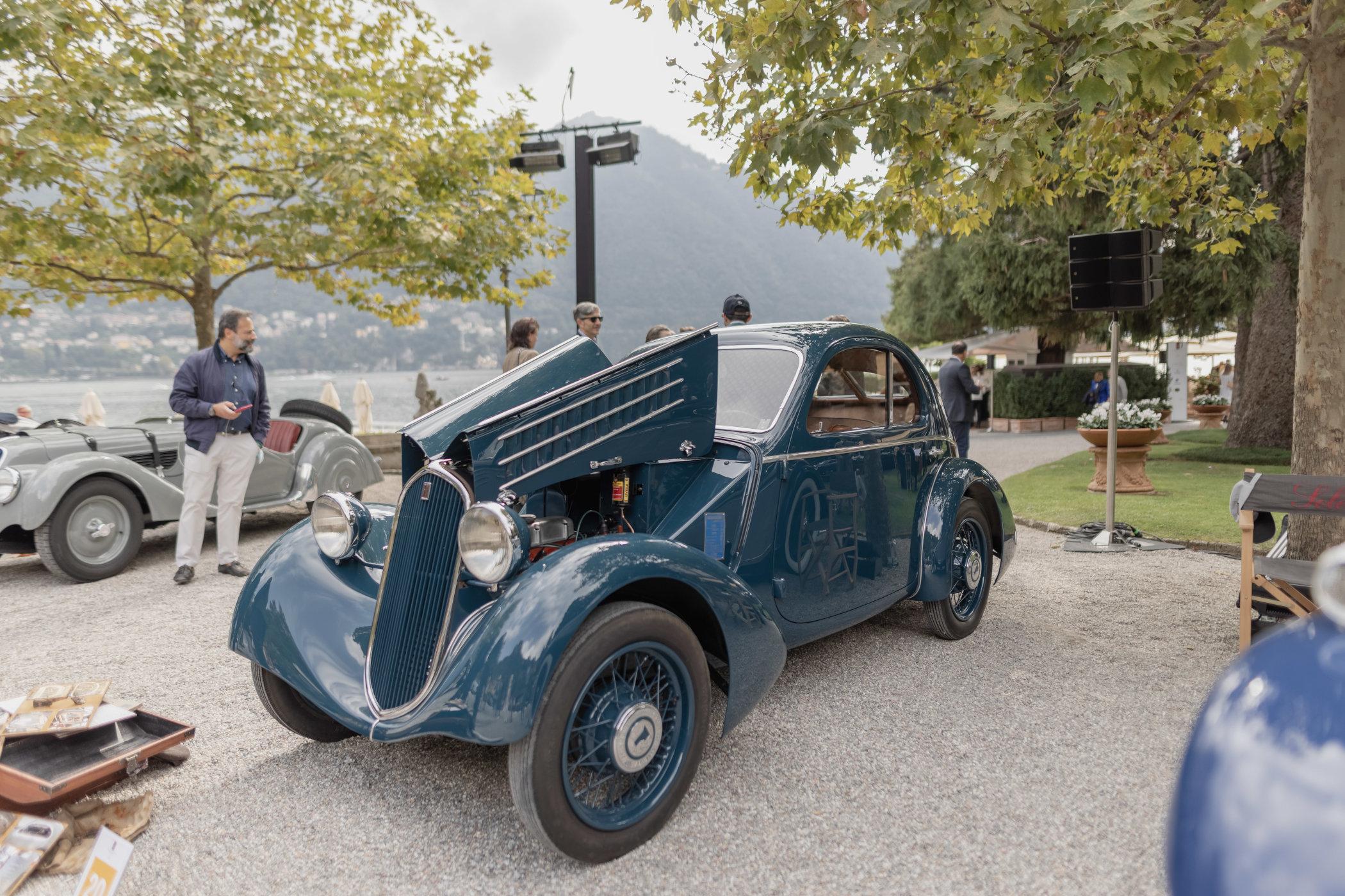 "1935 Fiat 508 CS ""Balilla Aerodinamica"""