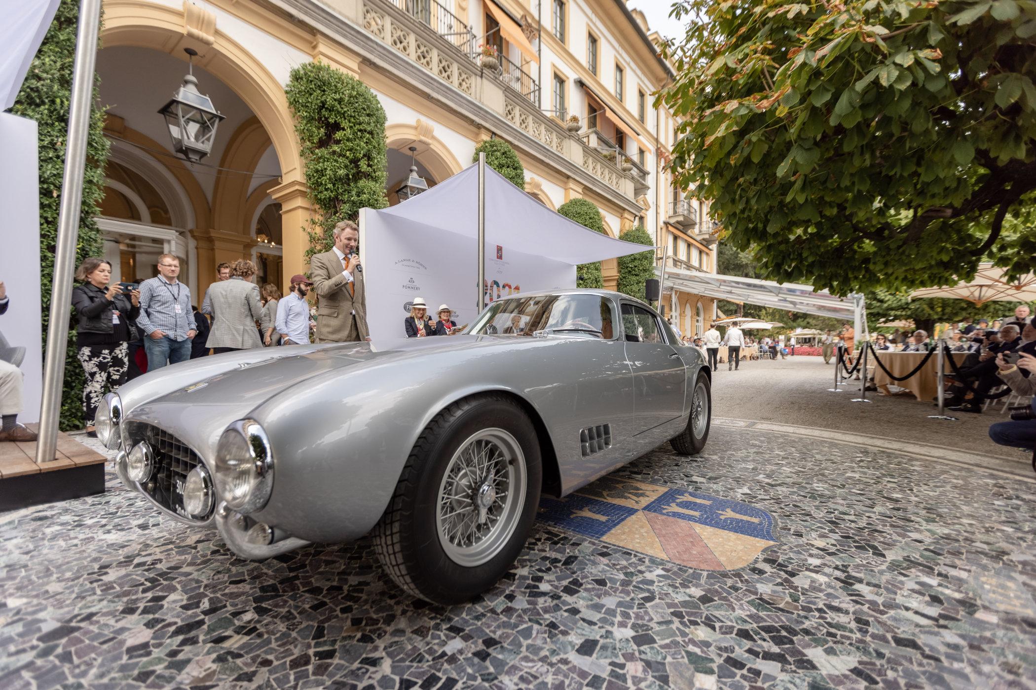Concorso d'Eleganza Villa d'Este 2021 A. Lange & Söhne 1953 Ferrari 250 GT TdF Best of Show 1