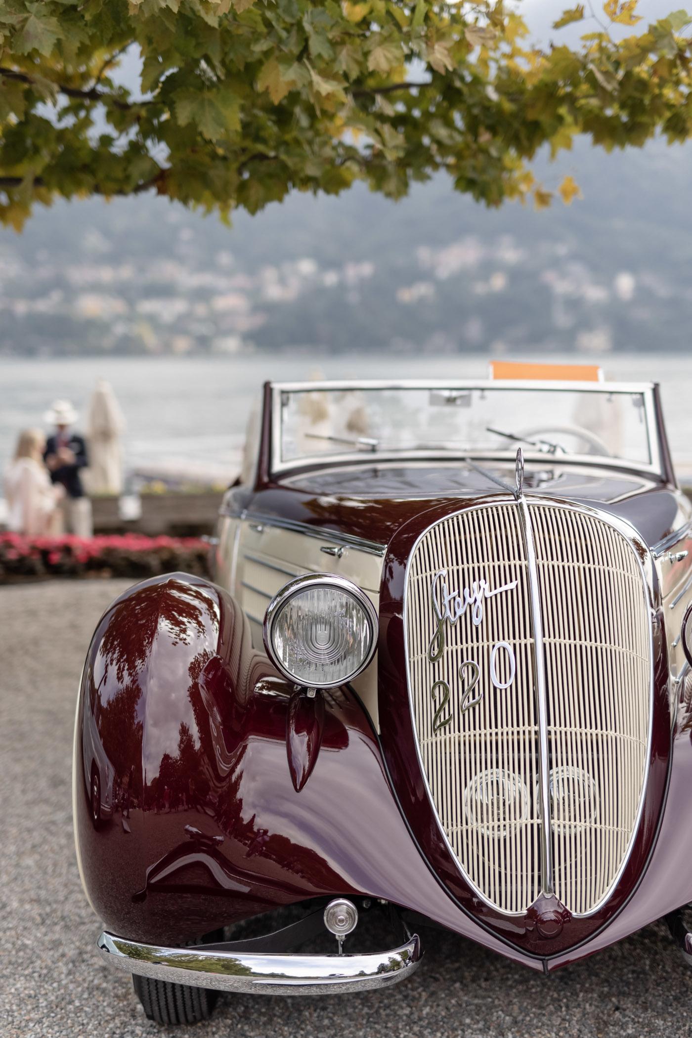 1939 Steyr 220 Sport Kabriolett