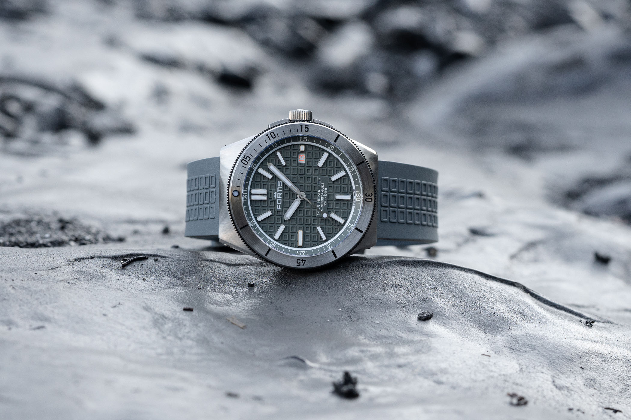 Fortis Marinemaster M-40 Collection - Introducing