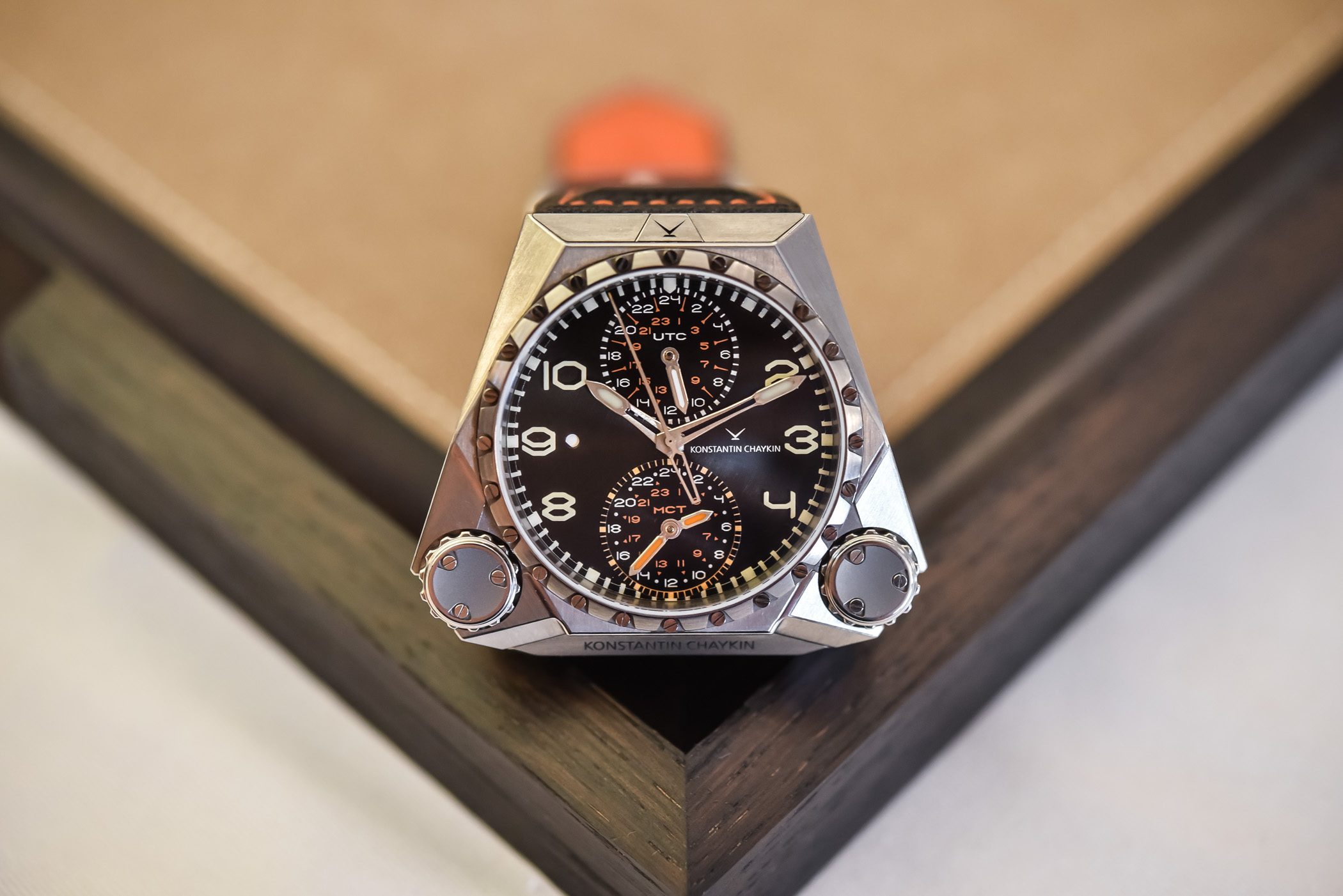 Review Konstantin Chaykin Mars Conqueror MK3, The Watch Made For The Exploration of Mars