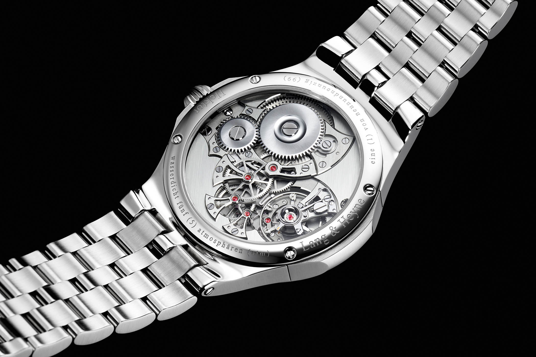 Lang and Heyne Hektor Sports Watch integrated bracelet - 3