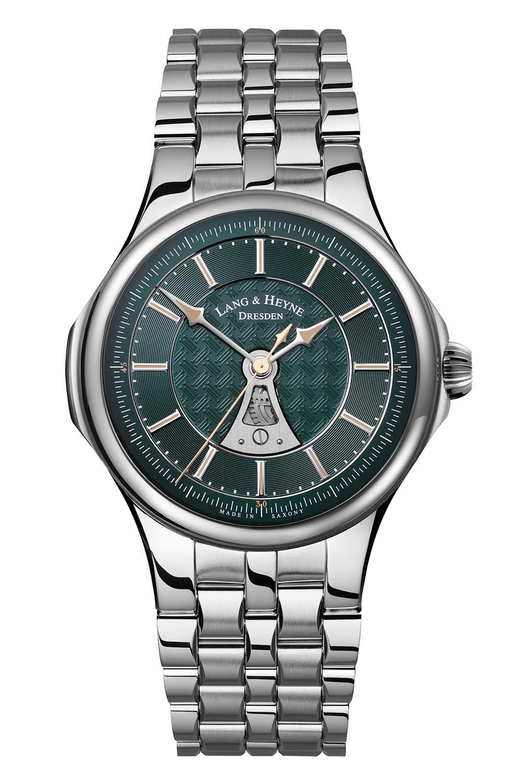 Lang & Heyne Hektor Sports Watch With Integrated Bracelet Green