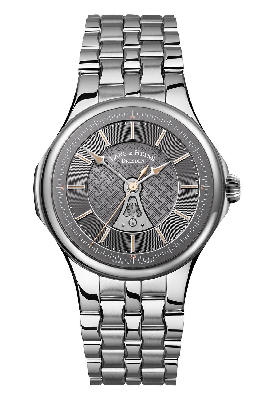 Lang & Heyne Hektor Sports Watch With Integrated Bracelet Grey