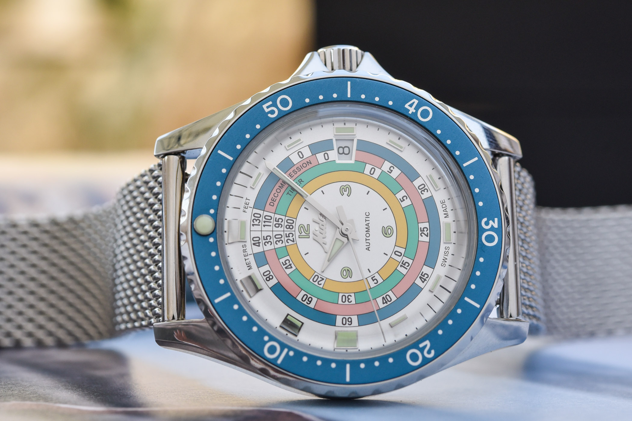 Mido Ocean Star Decompression Timer 1961 Turquoise Limited Edition 2021