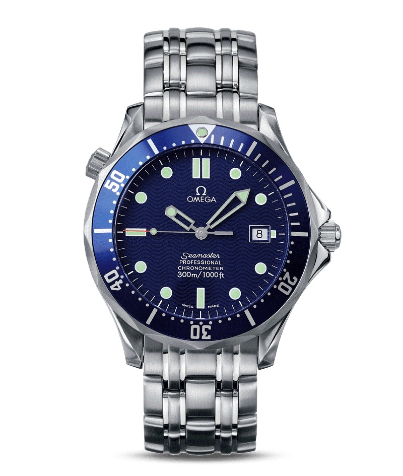 Omega Seamaster 300m Professional Chronometer Automatic 2521.80.00 James Bond Die Another Day 2002 Bond 007