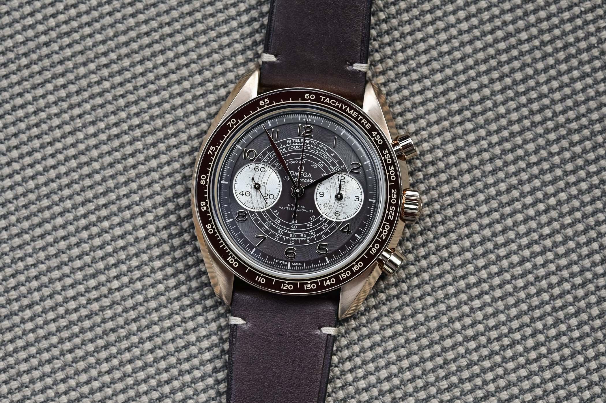 Omega Speedmaster Chronoscope Bronze Gold 43mm 329.92.43.51.10.001