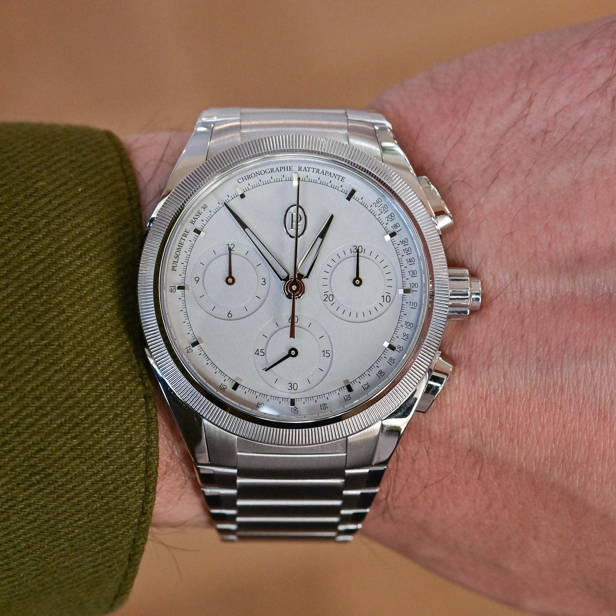 Parmigiani Fleurier Tonda PF Split Seconds Chronograph Platinum Chrono Movement PFH916-2010001-200182 - review - 2