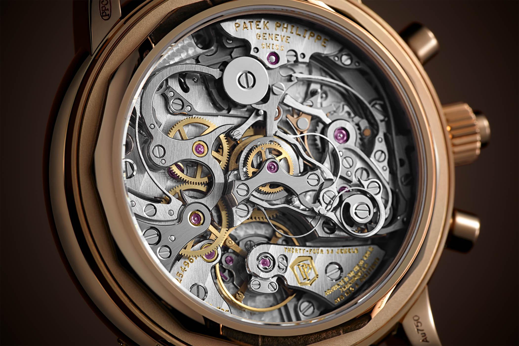 Patek Philippe 5204R-011 Split-Seconds Chronograph Perpetual Calendar slate grey