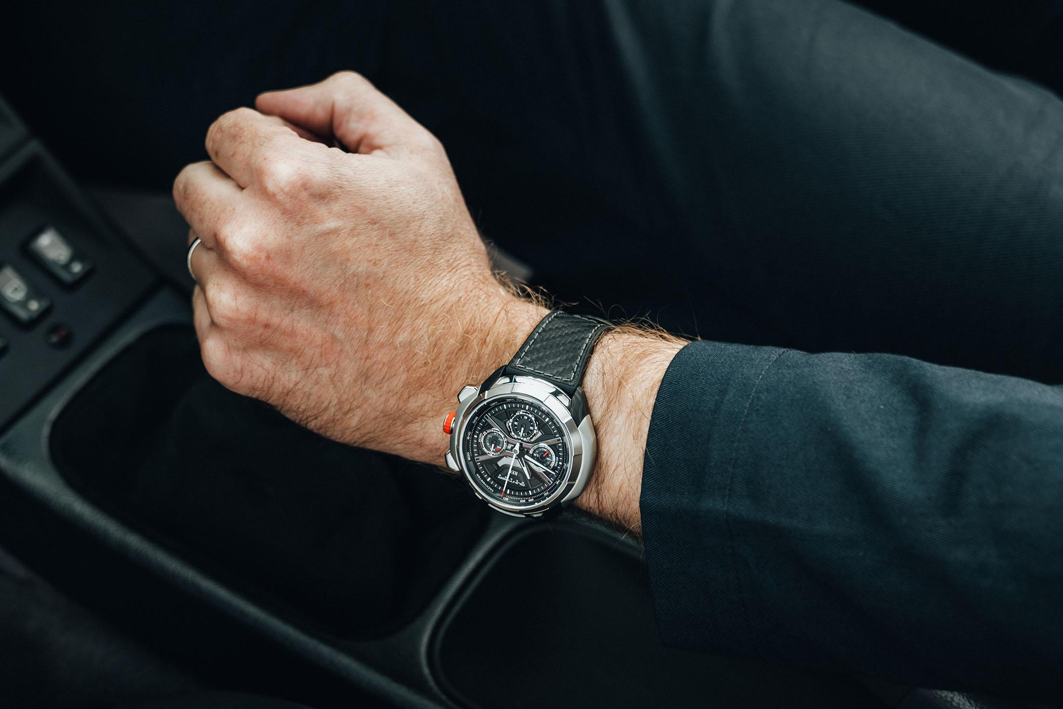 REC Watches 901 GW Carbon Exoskeleton and Chelsea Grey - Porsche 993 Remastered Gunther Werks - 10