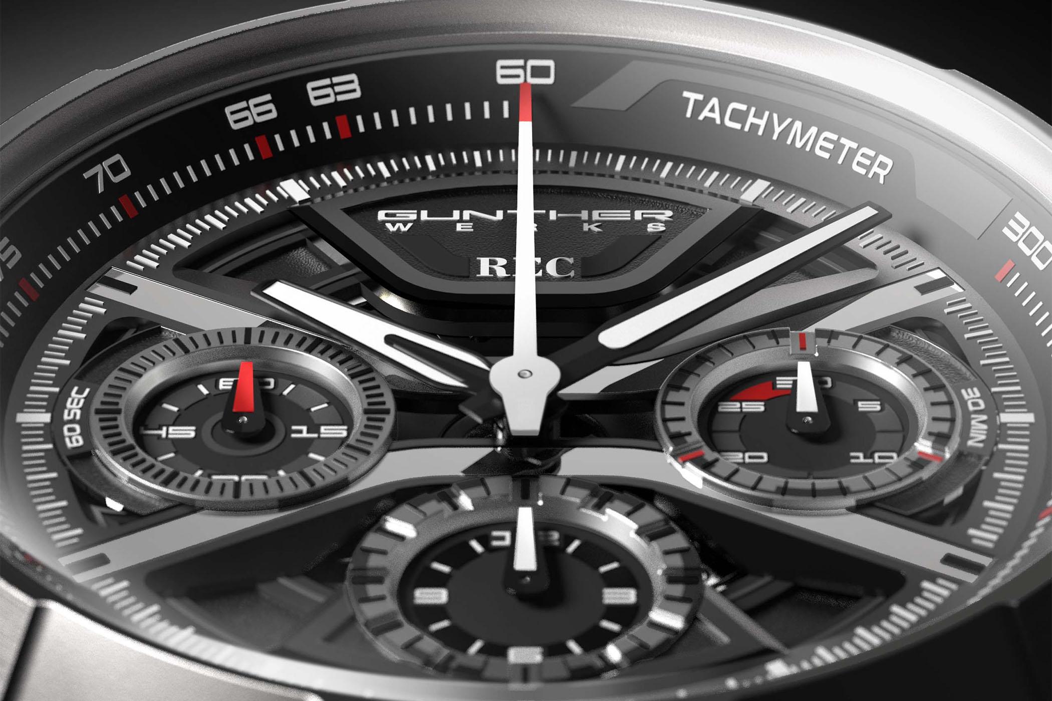 REC Watches 901 GW Chelsea Grey