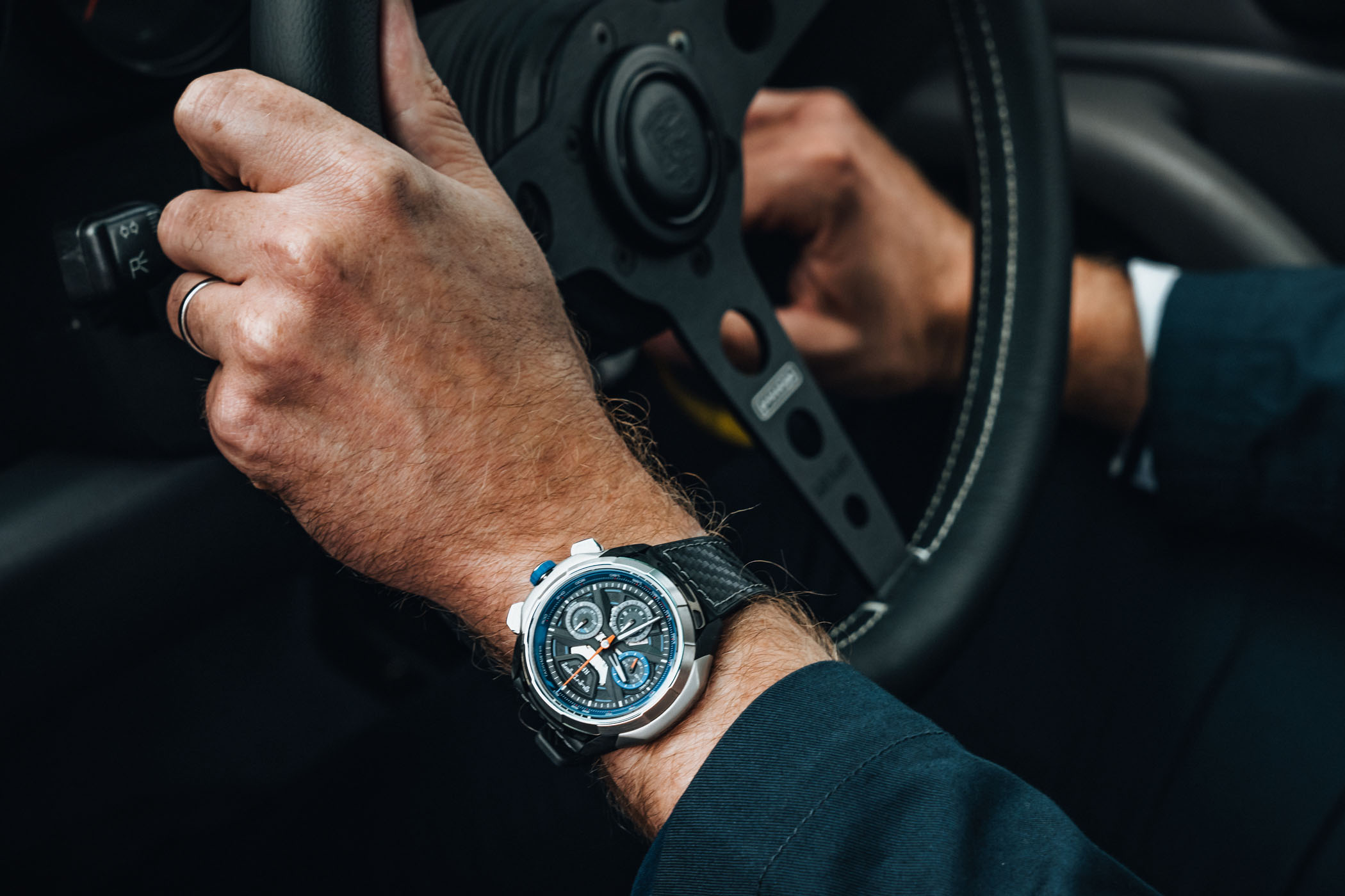 REC Watches 901 GW Carbon Exoskeleton and Chelsea Grey