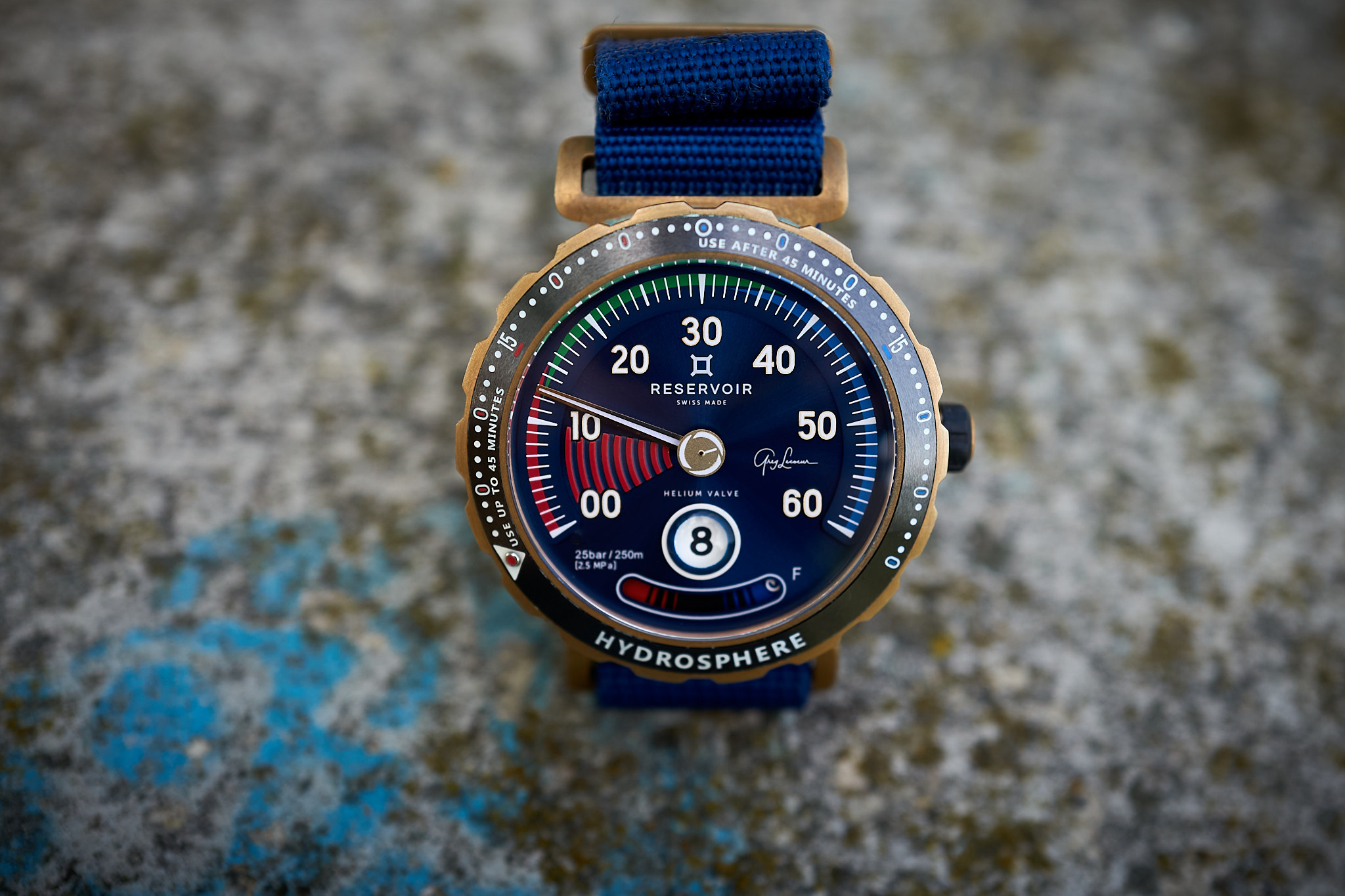 Reservoir Hydrosphere Greg Lecoeur Limited Edition Bronze - in-depth field review dive watch